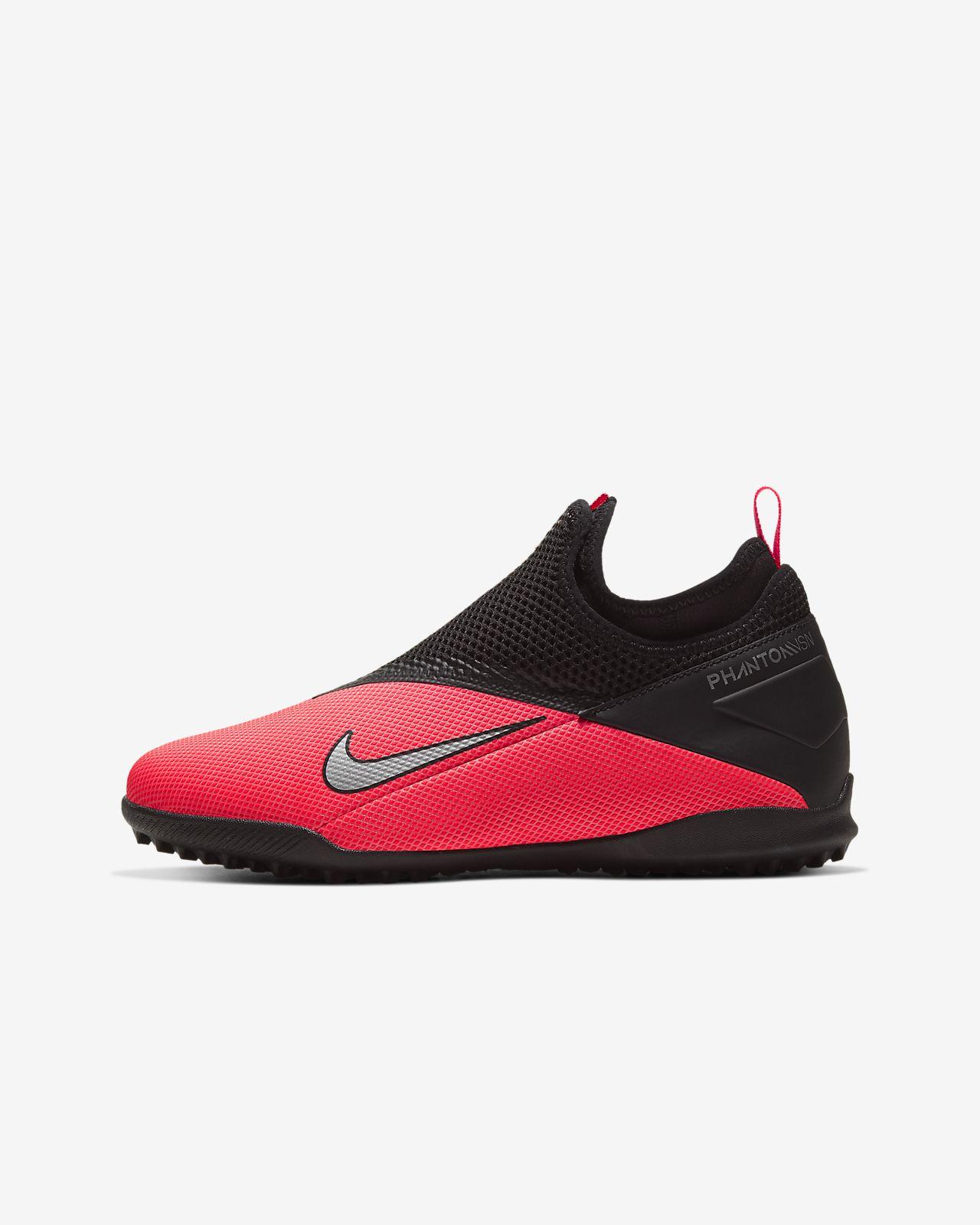 Nike Jr. Phantom Vision 2 Academy Dynamic Fit TF-fodboldsko til små/store børn til grus