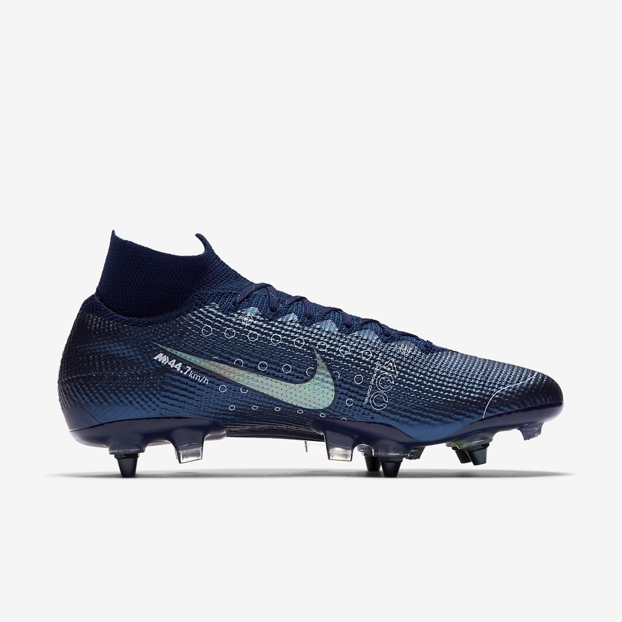 Chaussure de football à crampons pour terrain gras Nike Mercurial Superfly 7 Elite MDS SG PRO Anti Clog Traction