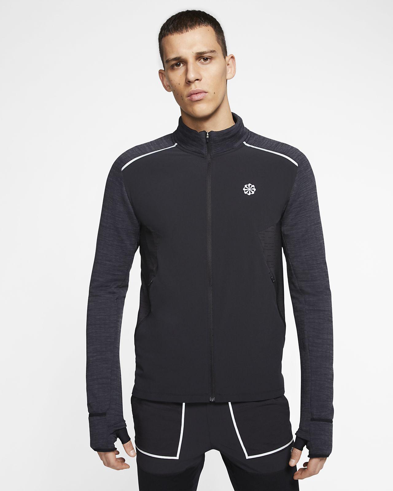 Nike langermet løpeoverdel til herre