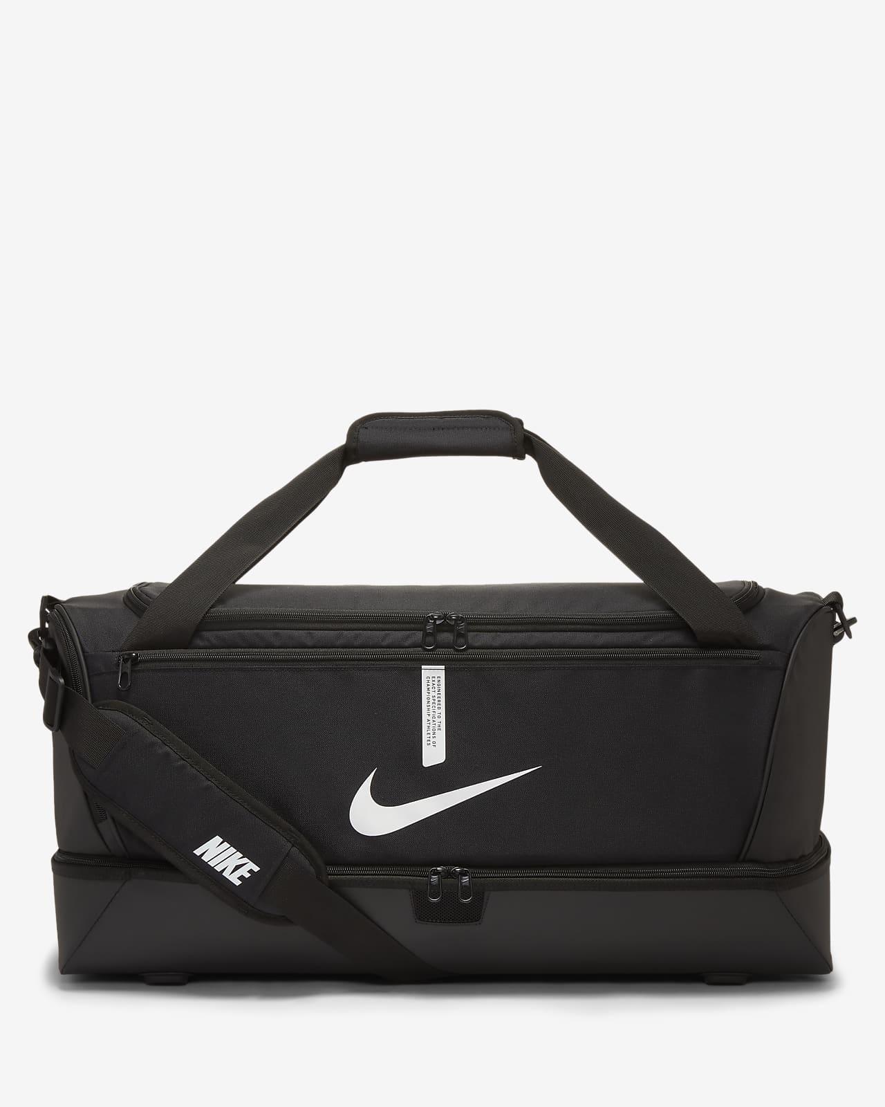 Nike Academy Team Bolsa de deporte de fútbol rígida (Grande)