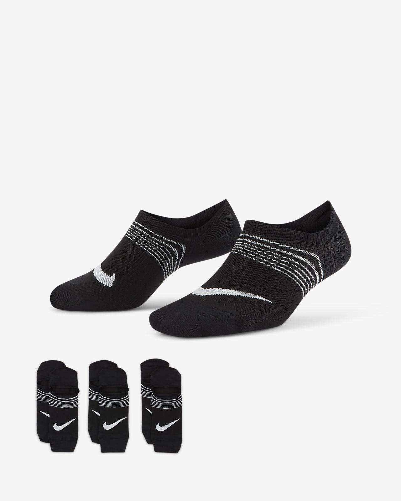 Nike Everyday Plus Lightweight Calcetines de entrenamiento sin puntera (3 pares) - Mujer