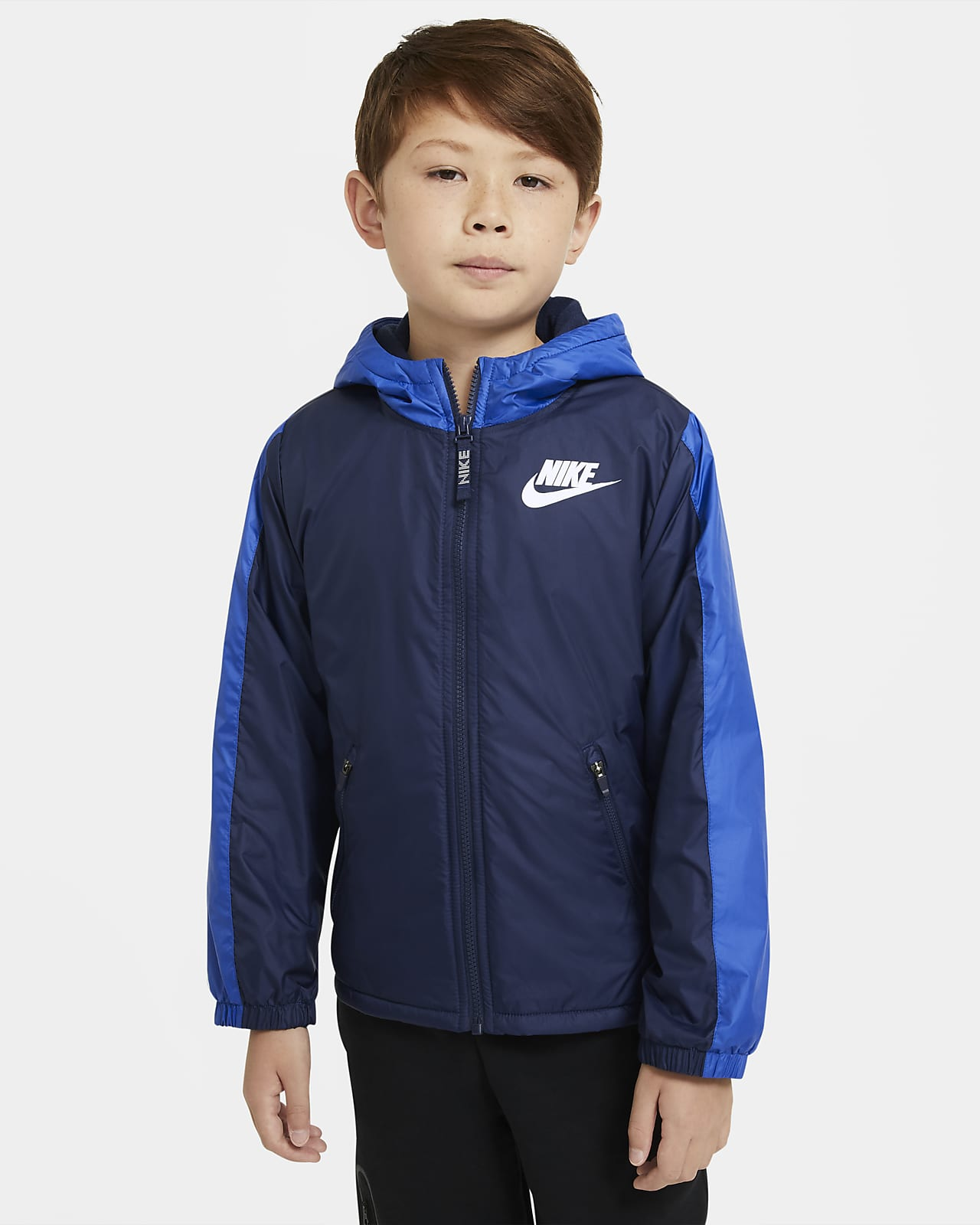 Nike Sportswear Older Kids' Fleece-Lined Jacket