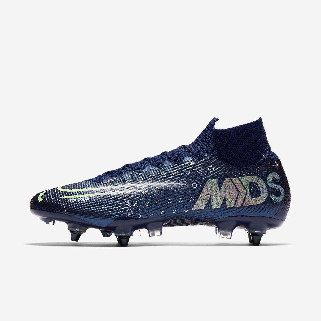 Nike Mercurial Superfly 7 Elite MDS SG-PRO Anti-Clog Traction lágy talajra készült futballcipő