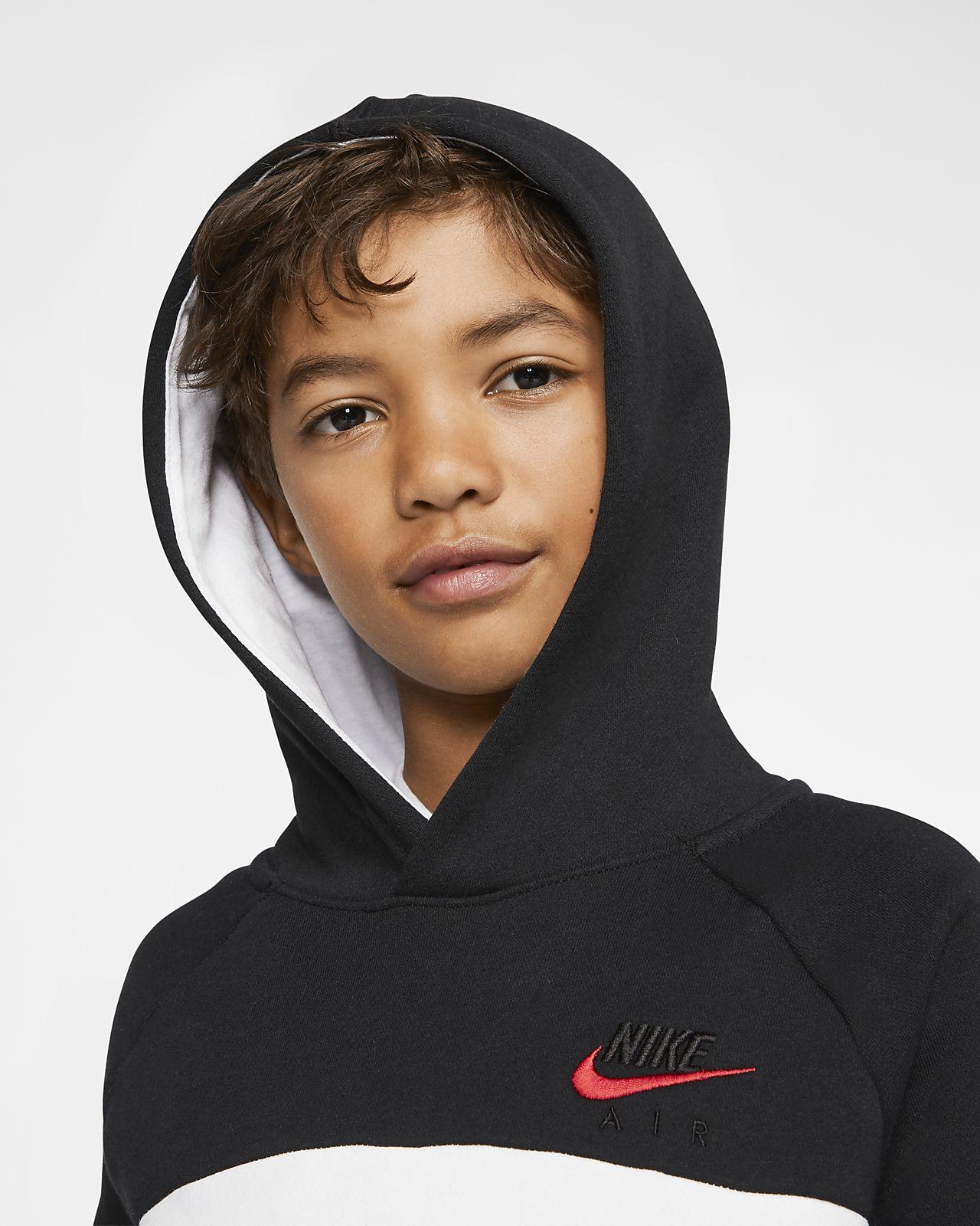 Bluza z kapturem dla dużych dzieci (chłopców) Nike Air Max