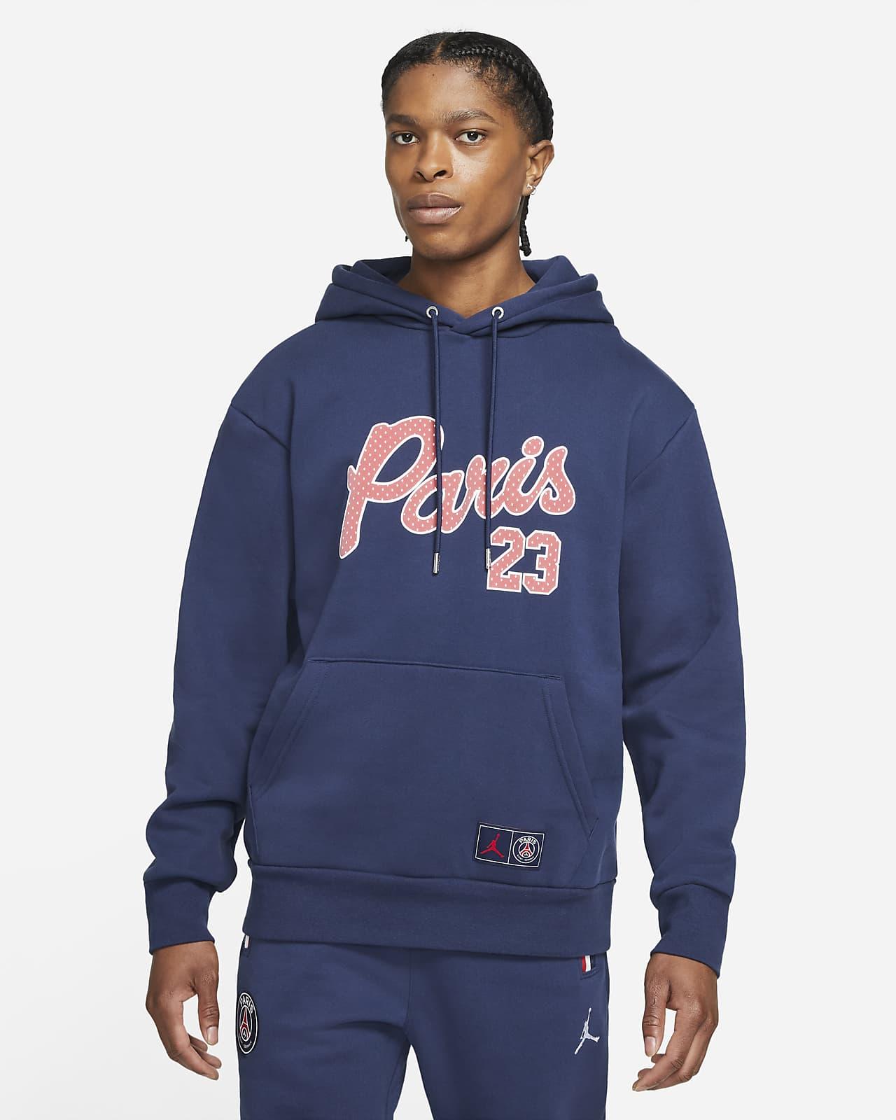 Paris Saint-Germain Men's Statement Fleece Pullover Hoodie