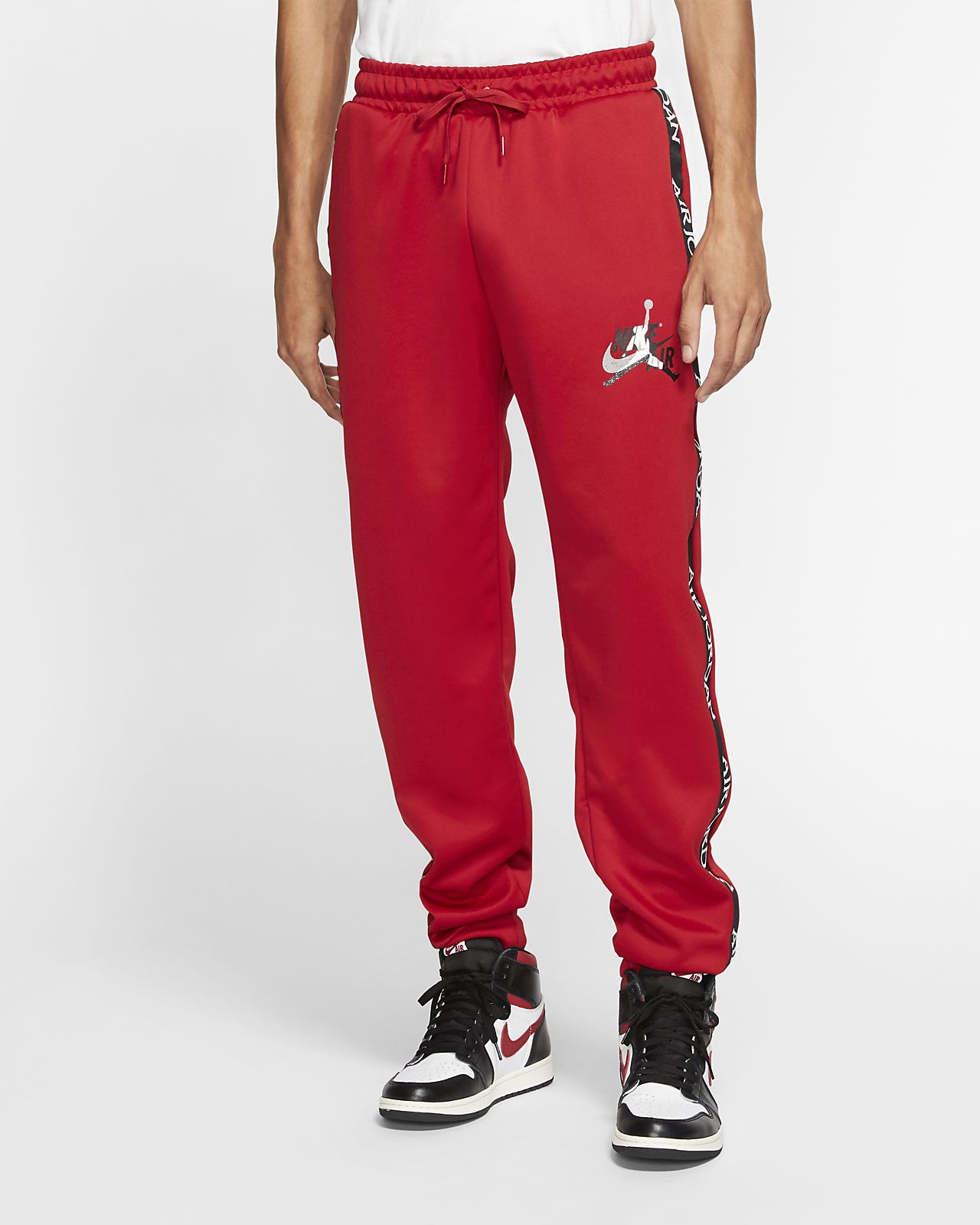 pantalon nike homme rouge