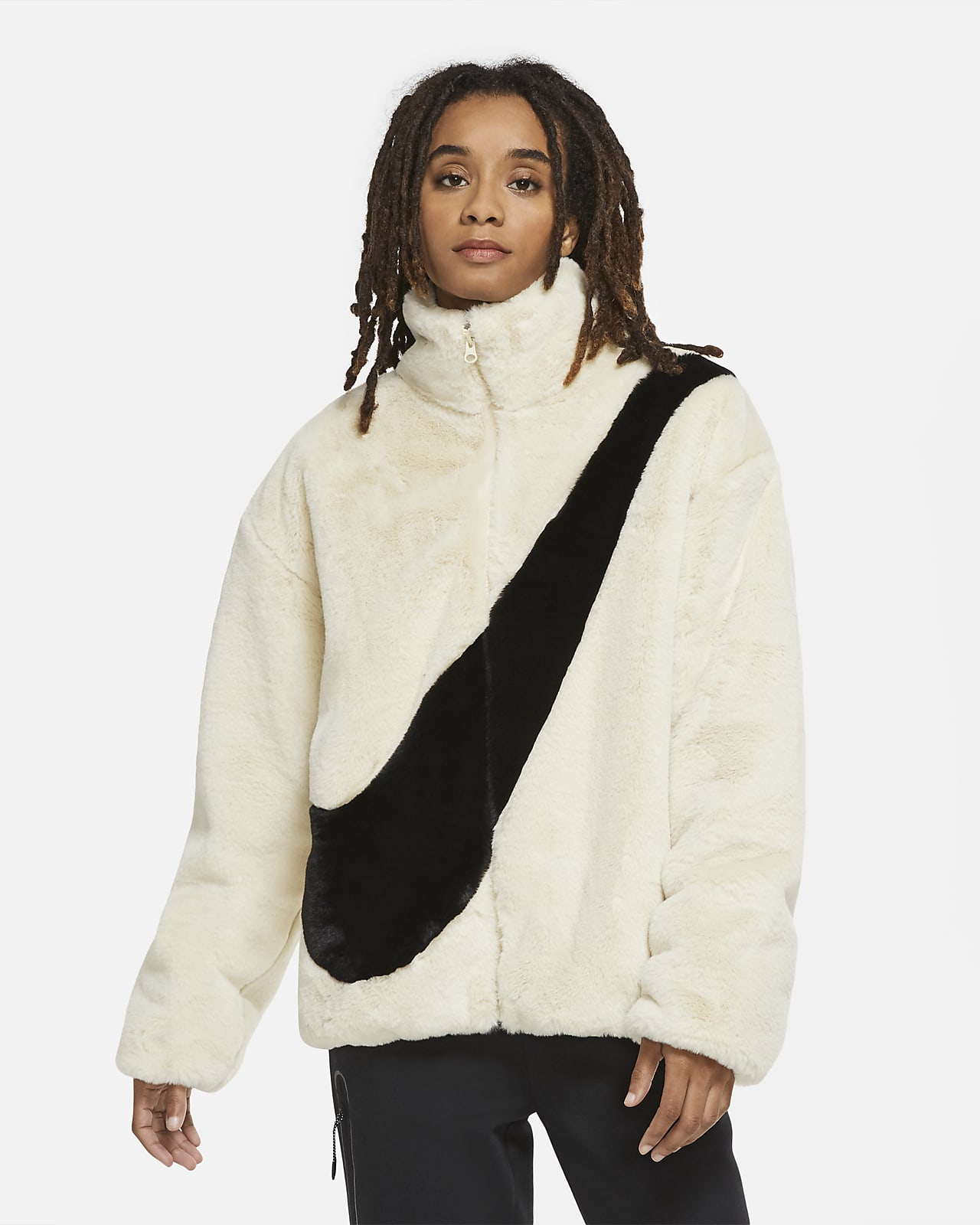 Женская куртка из синтетического меха Nike Sportswear