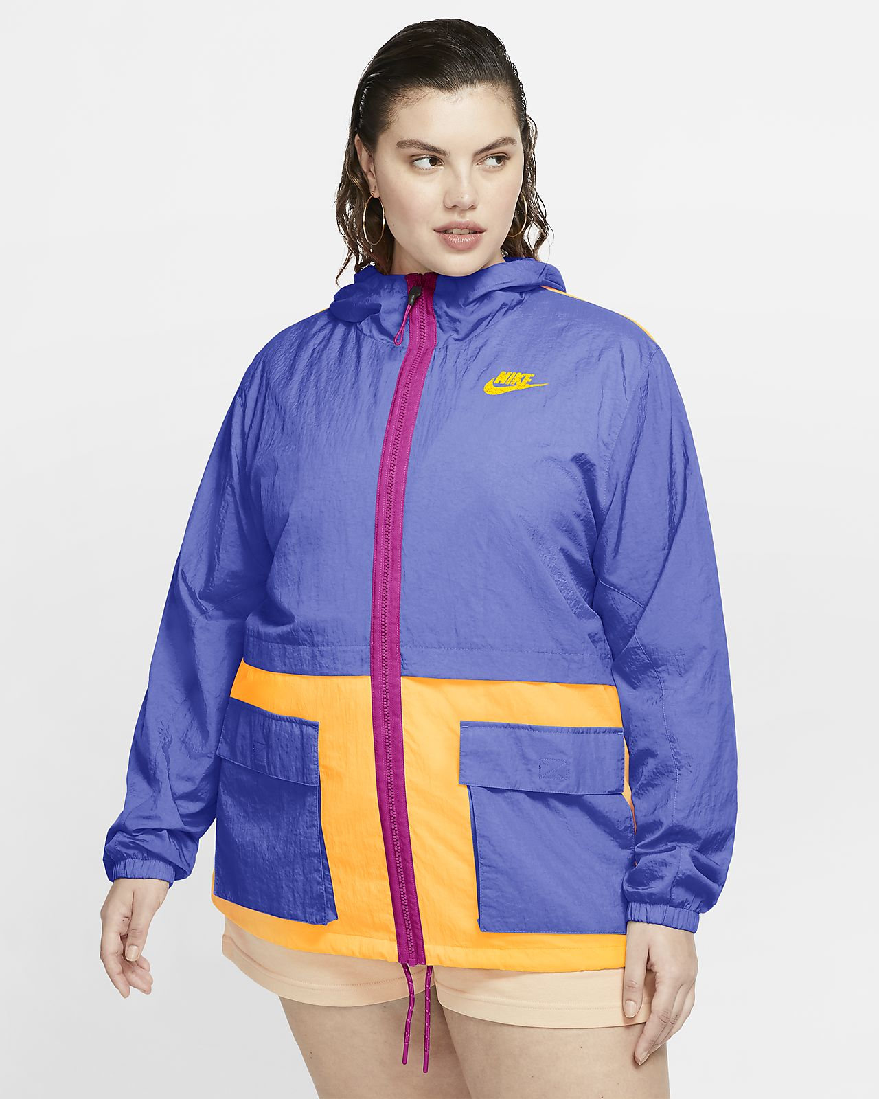 Nike Sportswear Icon Clash Women's Woven Jacket (Plus Size)