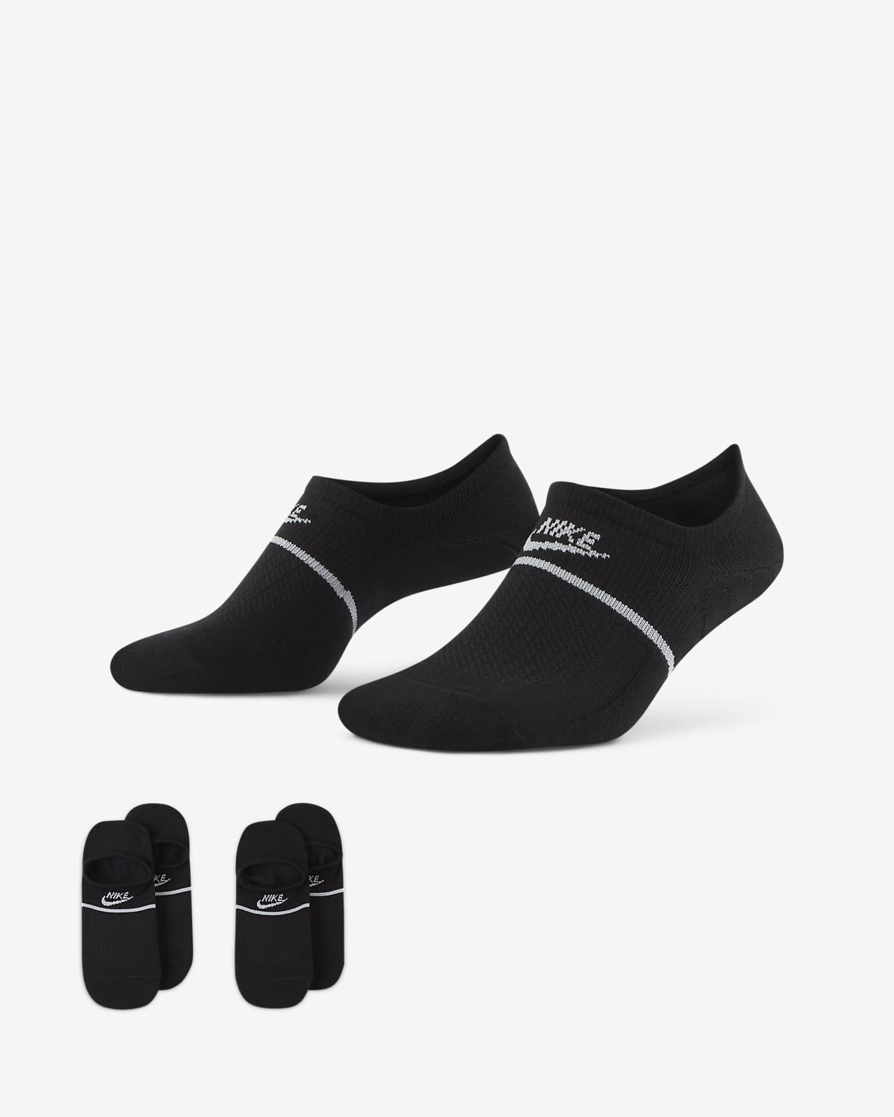 Nike SNKR Sox No-Show Footies (2 Pairs)