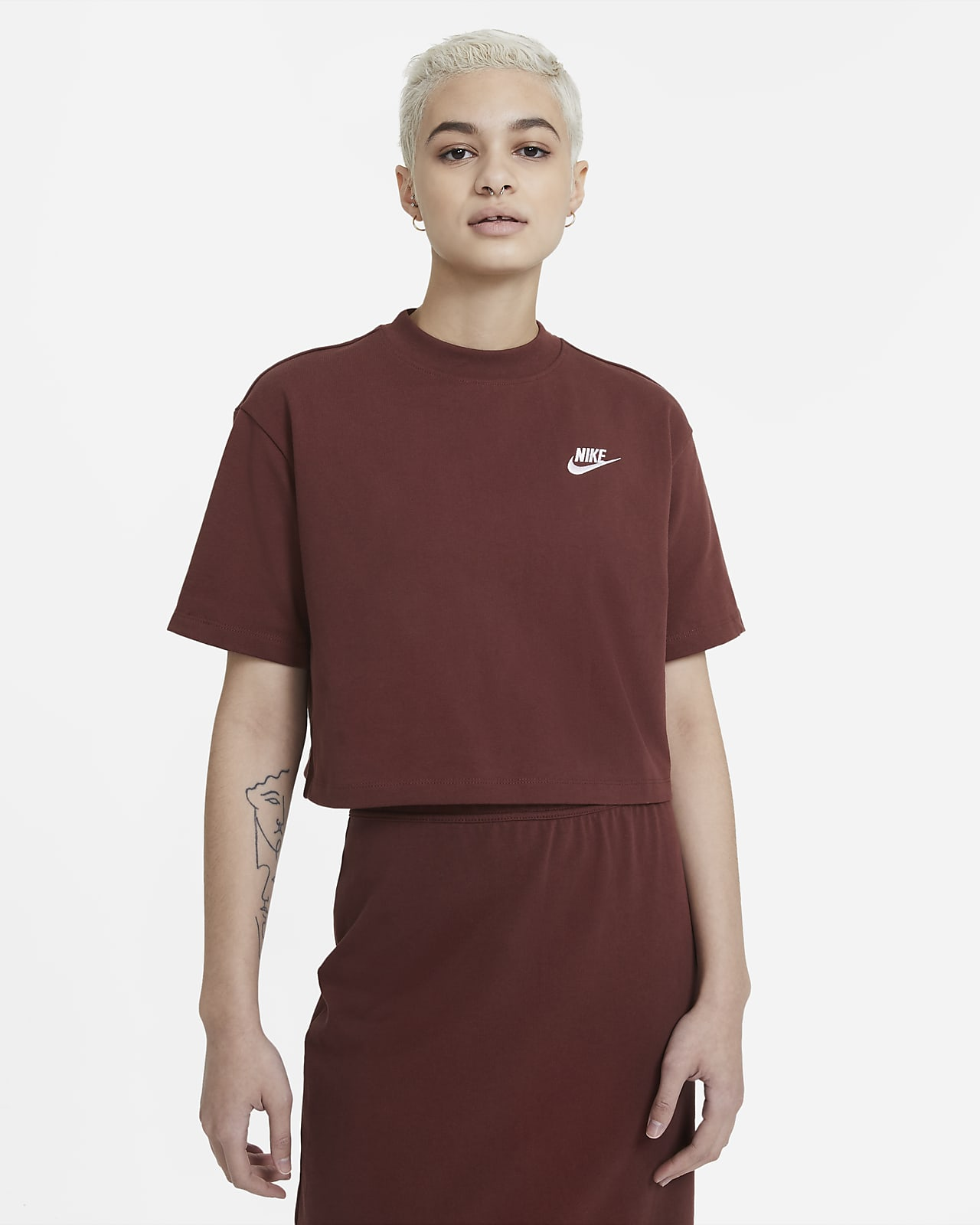 Nike Sportswear Women's Short-Sleeve Jersey Top