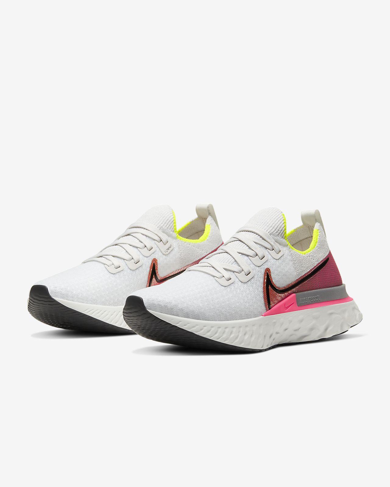 Nike React Infinity Run Flyknit løbesko til kvinder
