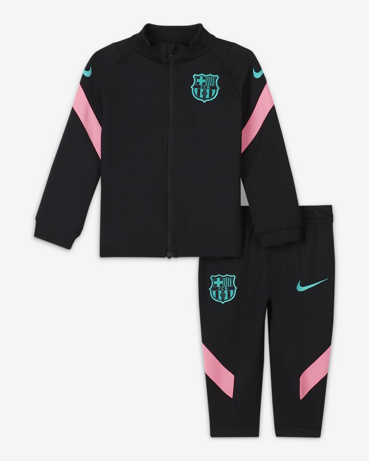 F.C. Barcelona Strike Baby Football Tracksuit