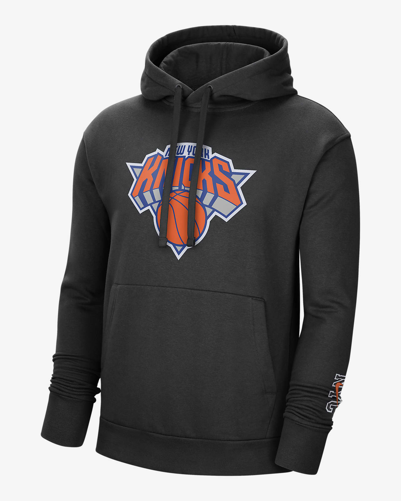 Męska bluza z kapturem NBA Nike New York Knicks City Edition Logo