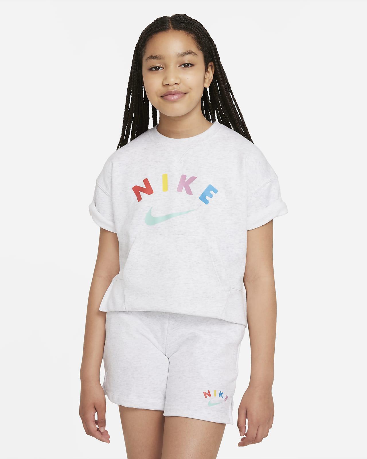 Camiseta para niña talla grande Nike Sportswear