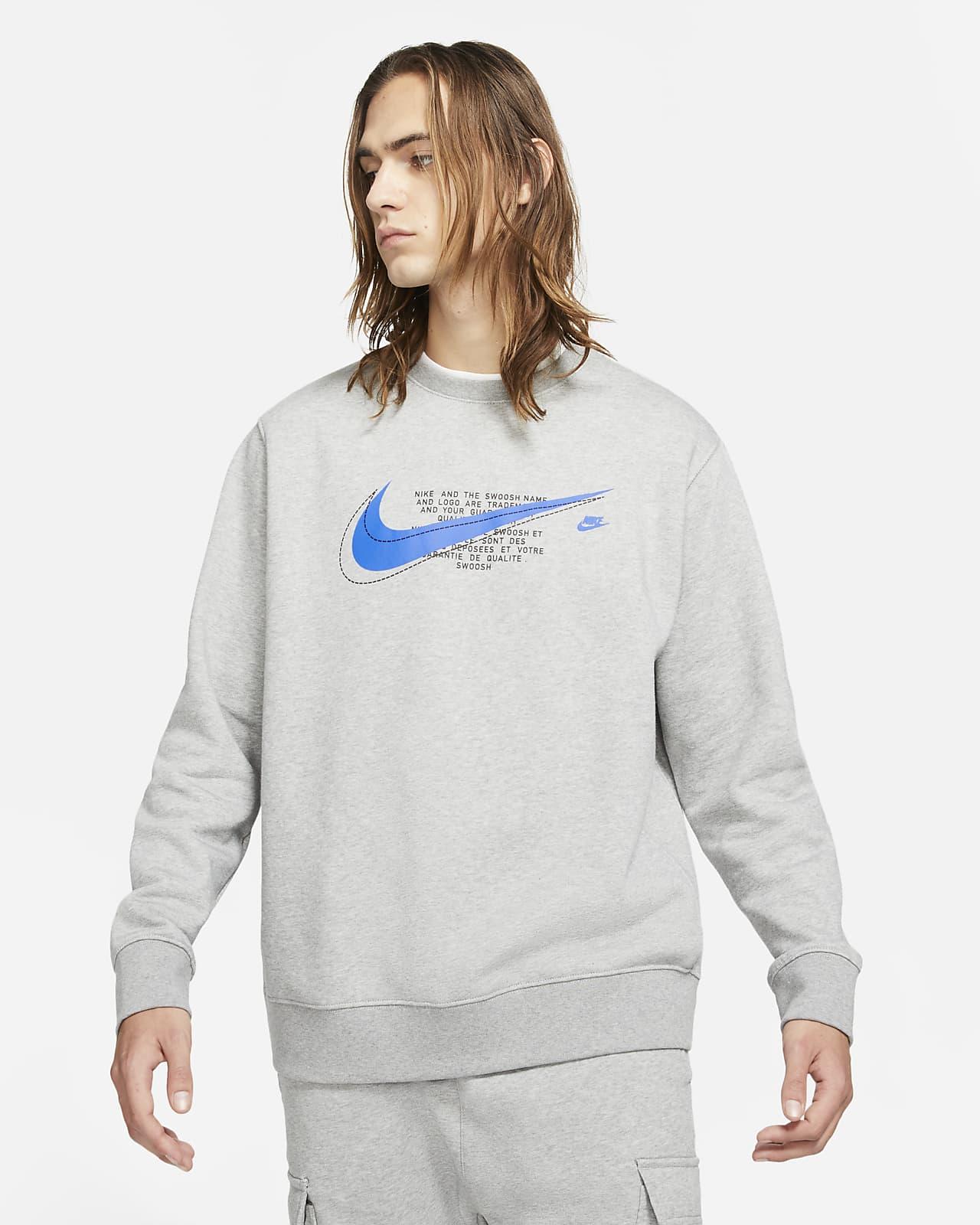 Nike Sportswear Court Fleecetop met ronde hals voor heren
