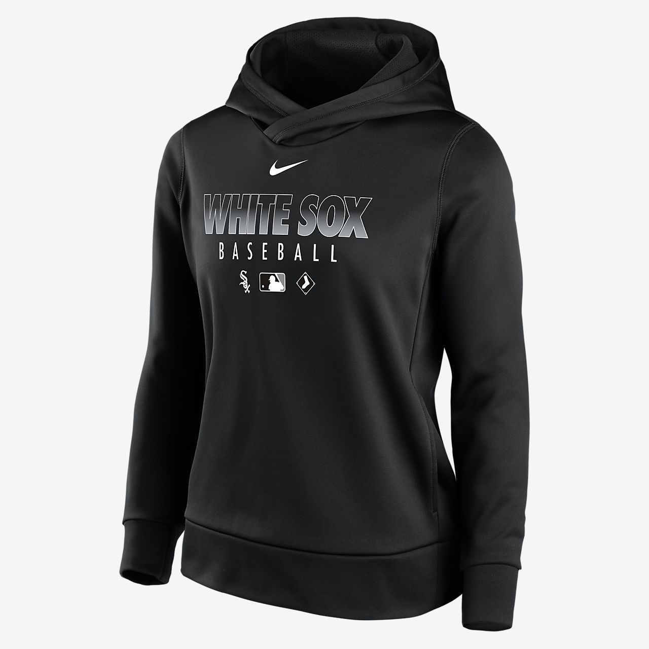 Nike Therma (MLB Chicago White Sox) Women's Pullover Hoodie