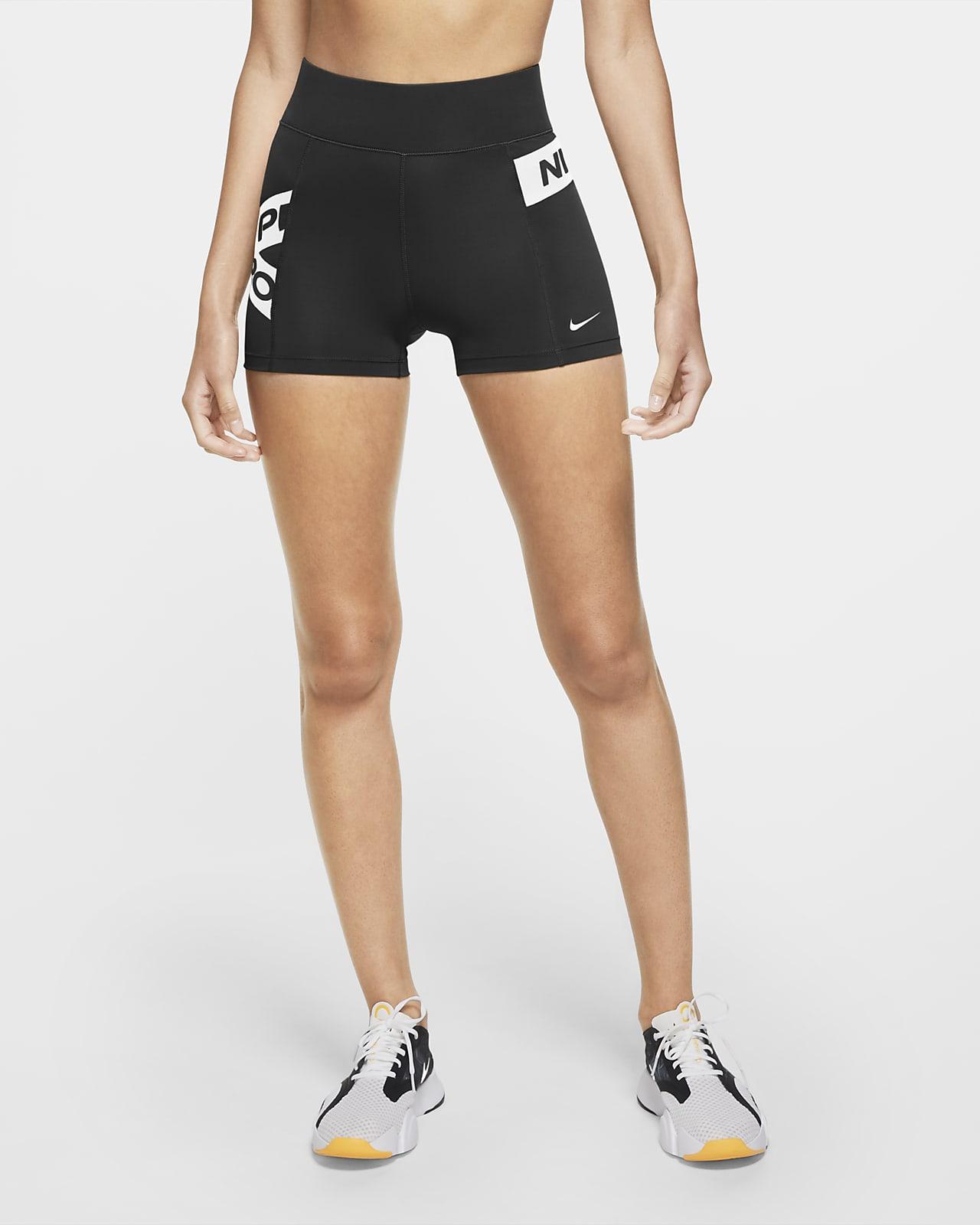 Dámské kraťasy Nike Pro s grafickým motivem