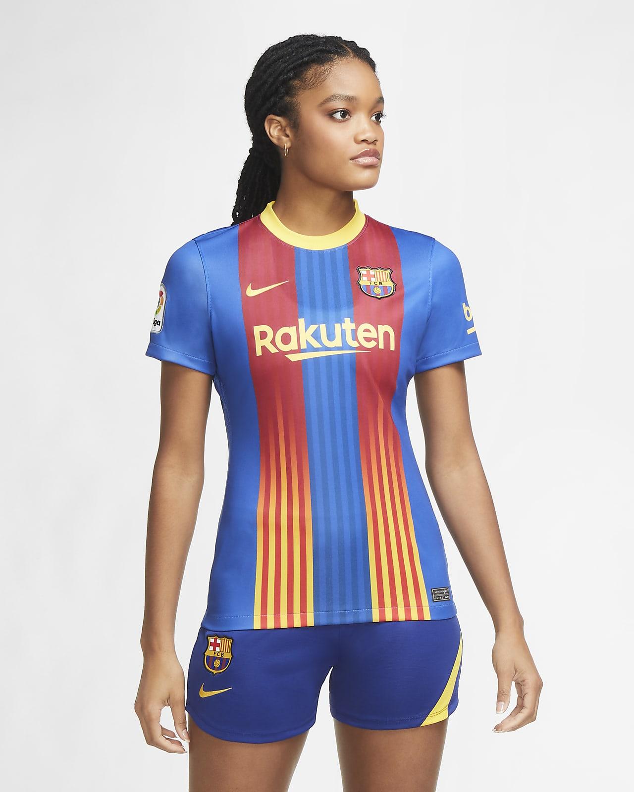 Maillot de football FC Barcelona 2020/21 Stadium pour Femme