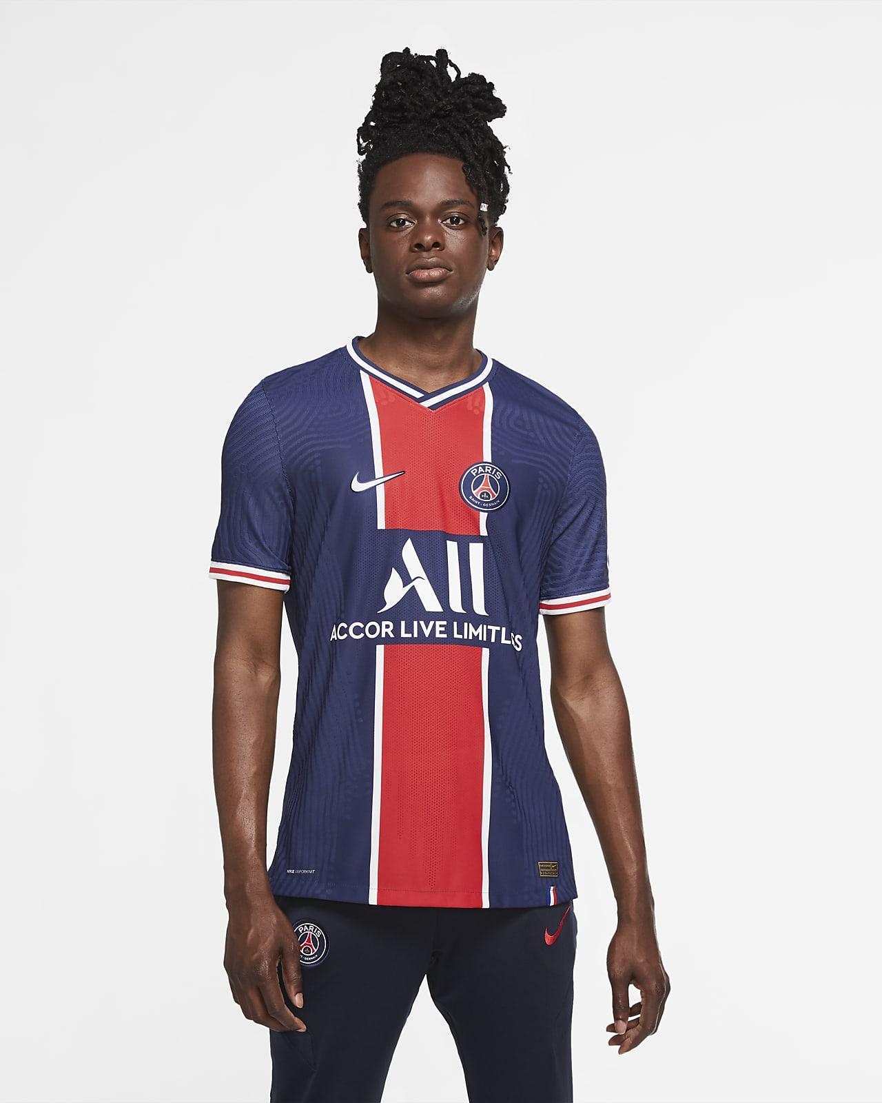 Camiseta de fútbol de local para hombre Vapor Match del Paris Saint-Germain 2020/21
