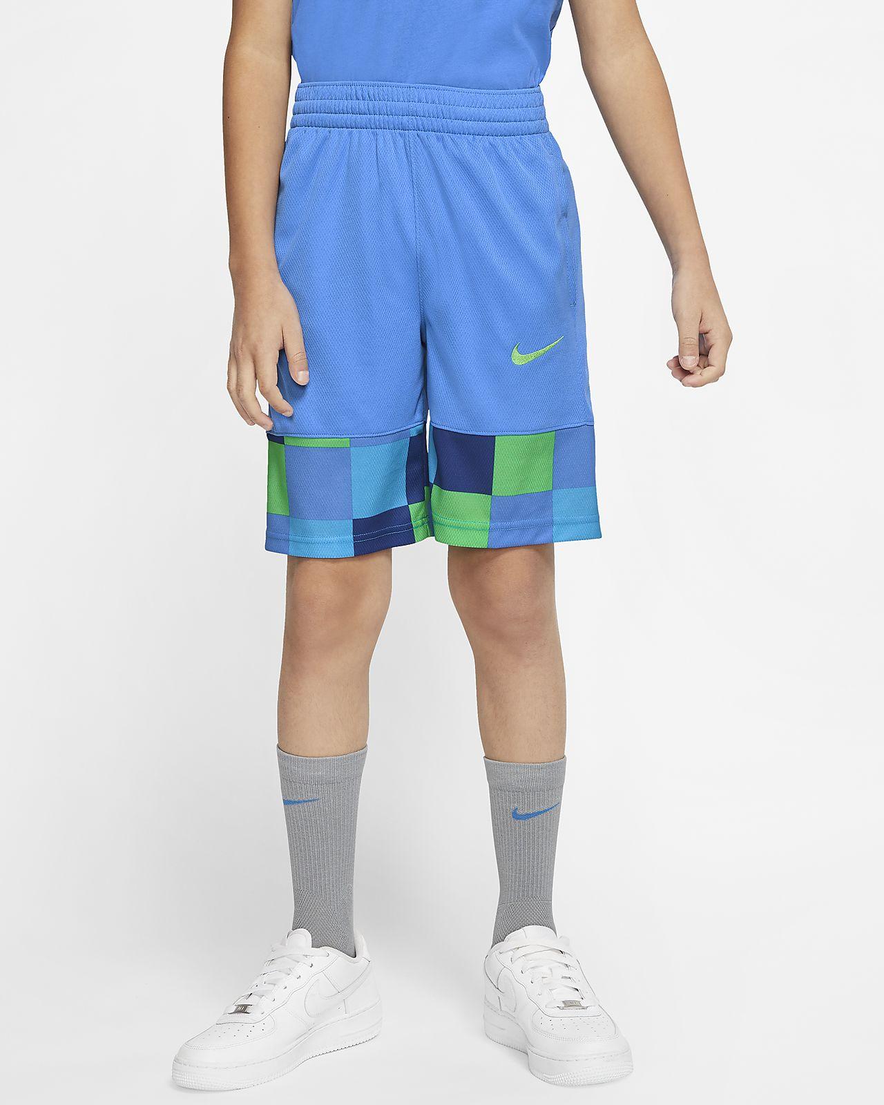 กางเกงบาสเก็ตบอลขาสั้นเด็กโต Nike (ชาย)