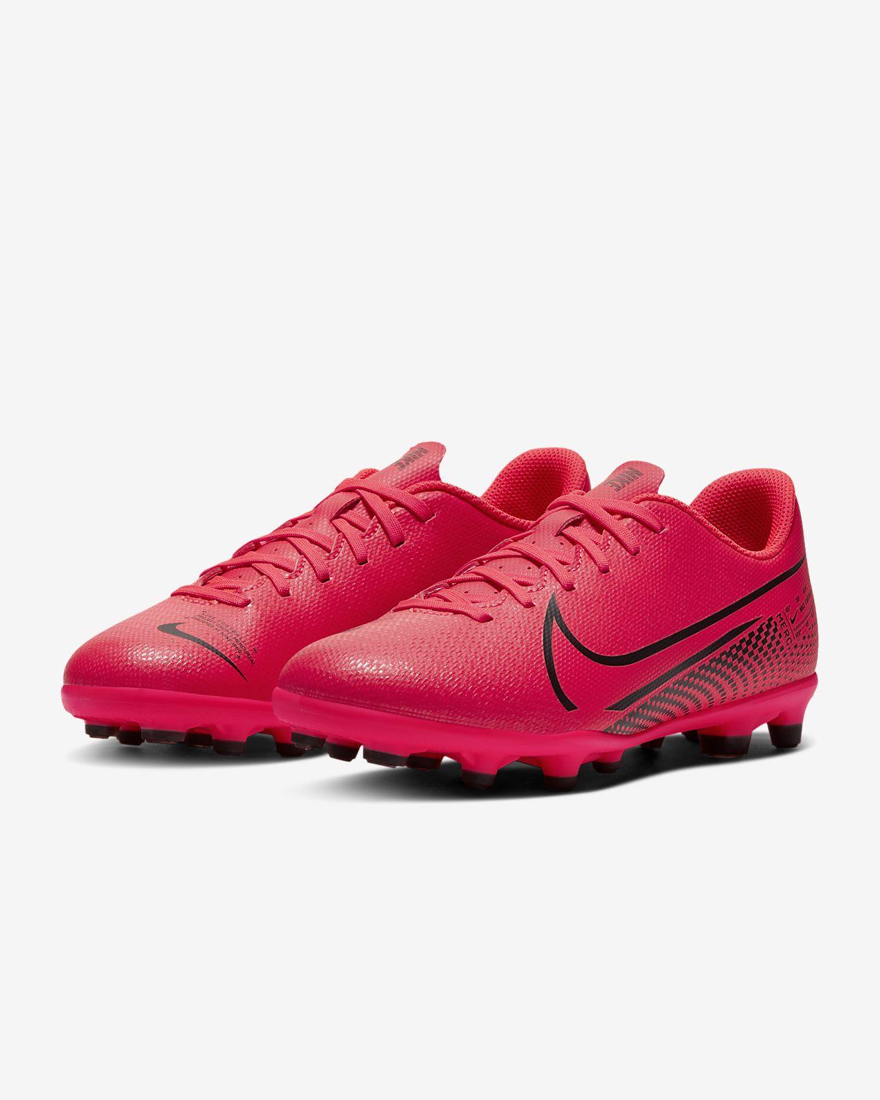 Nike Jr. Mercurial Vapor 13 Club MG Voetbalschoen voor kleuterskids (meerdere ondergronden)