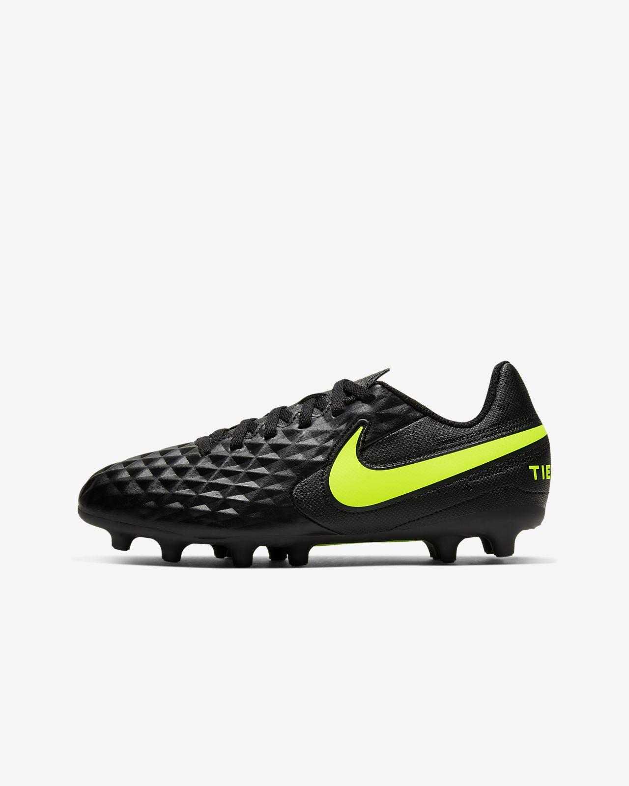 Nike Jr. Tiempo Legend 8 Club MG Big Kids' Multi-Ground Soccer Cleat