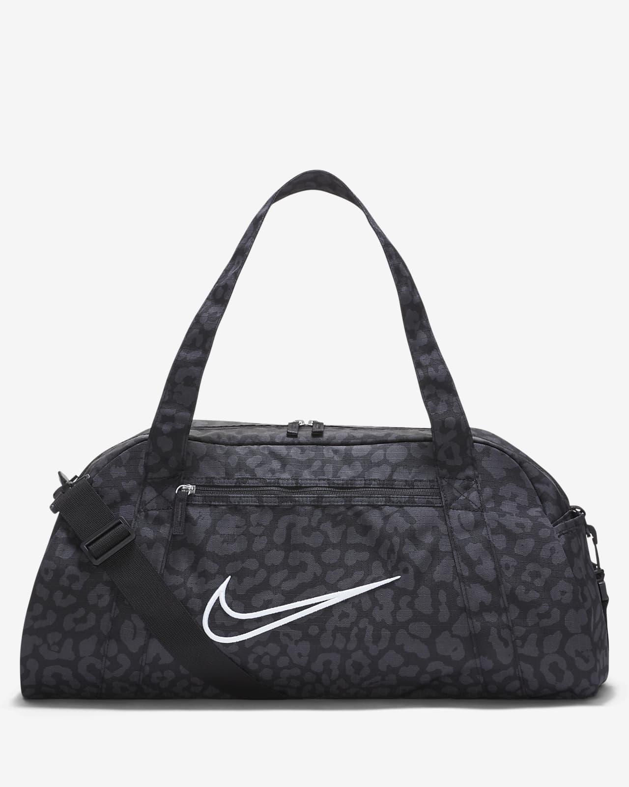 Bolsa de lona de entrenamiento estampada para mujer Nike Gym Club