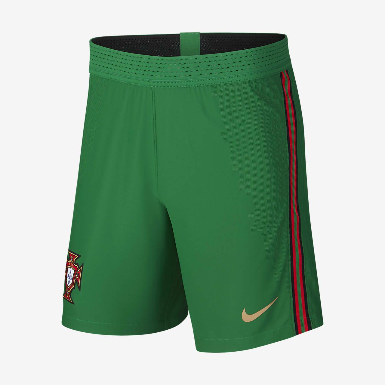 Shorts de fútbol para hombre de Portugal 2020 Vapor Match de local