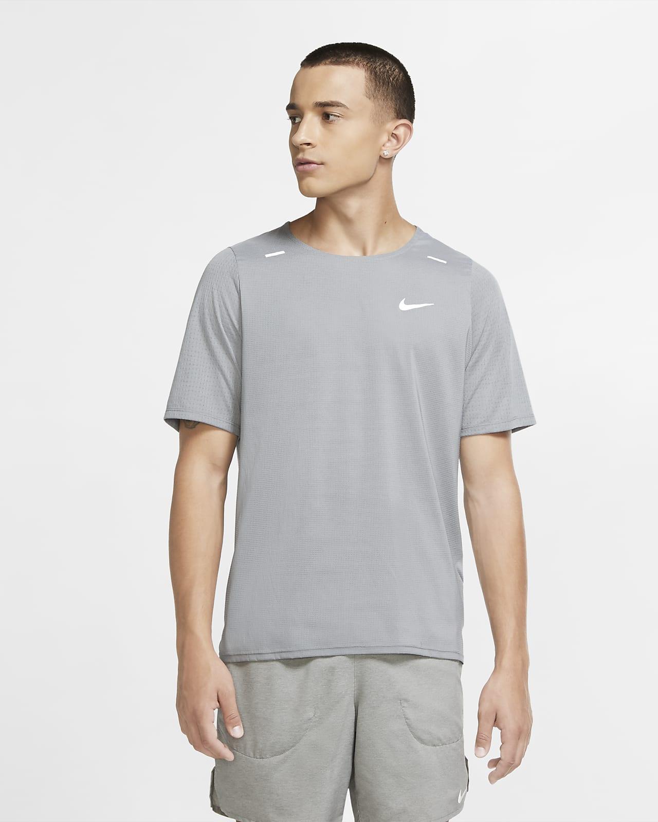 Pánské hybridní běžecké tričko Nike Breathe Rise 365
