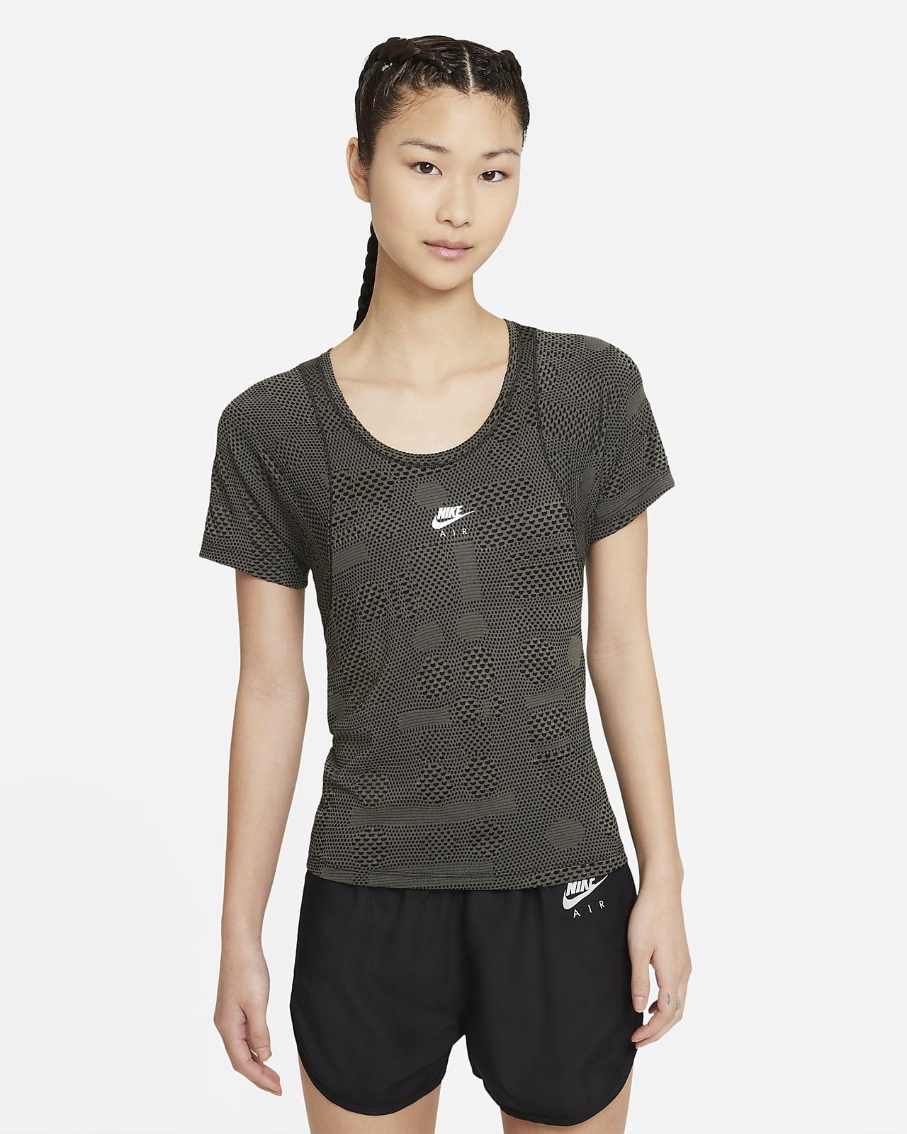 เสื้อวิ่งแขนสั้นผู้หญิง Nike Air Dri-FIT