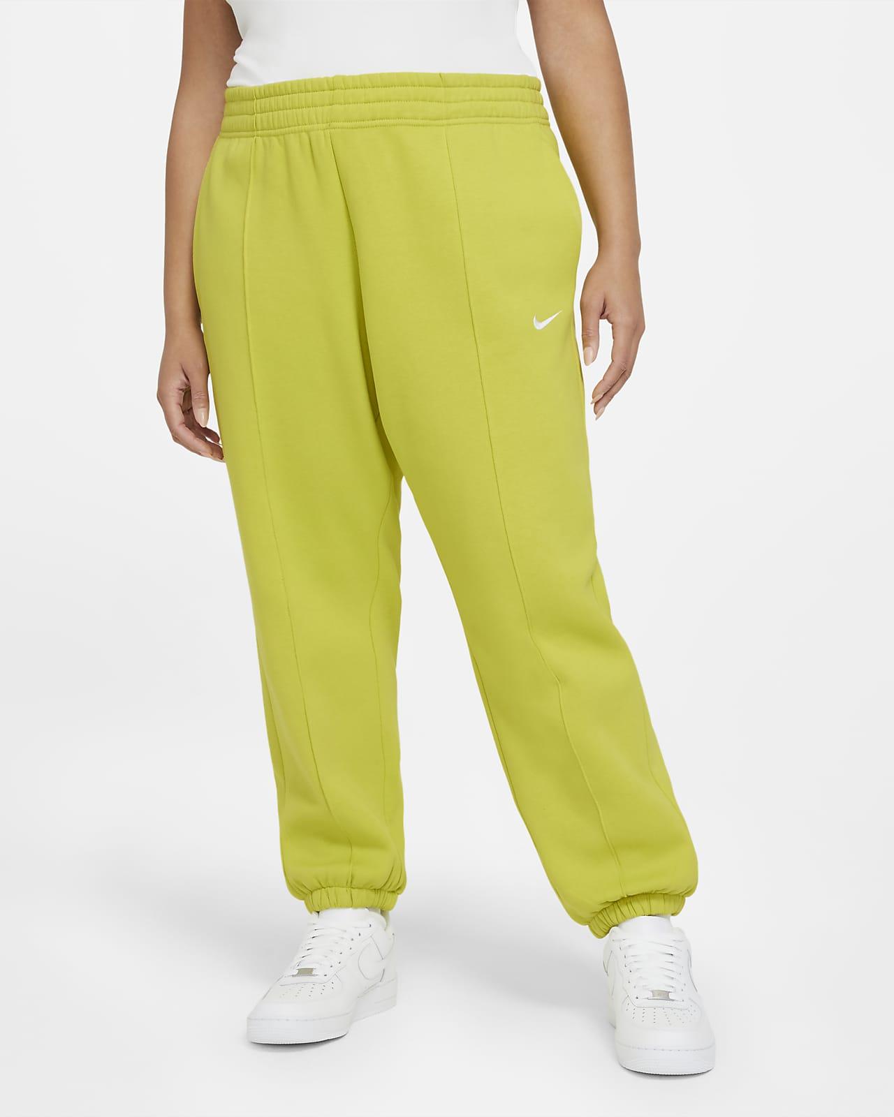 Nike Sportswear Trend Pantalón de tejido Fleece (Talla grande) - Mujer