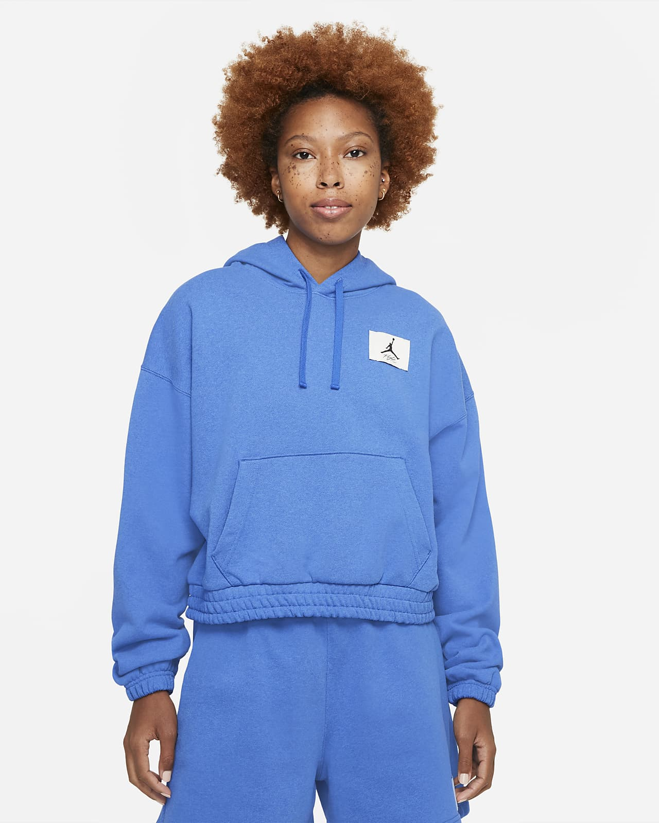Hoodie de lã cardada Jordan Essentials para mulher
