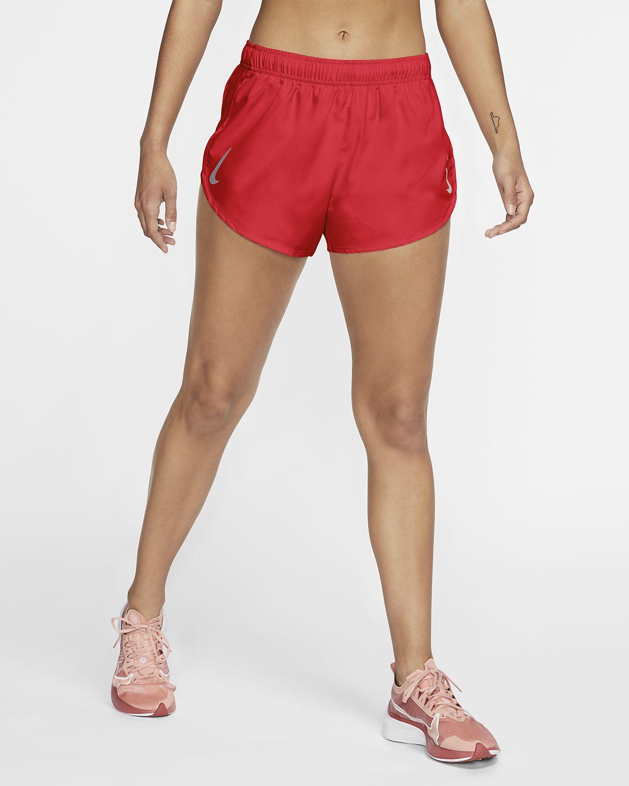 Женские беговые шорты с высокой посадкой Nike Tempo