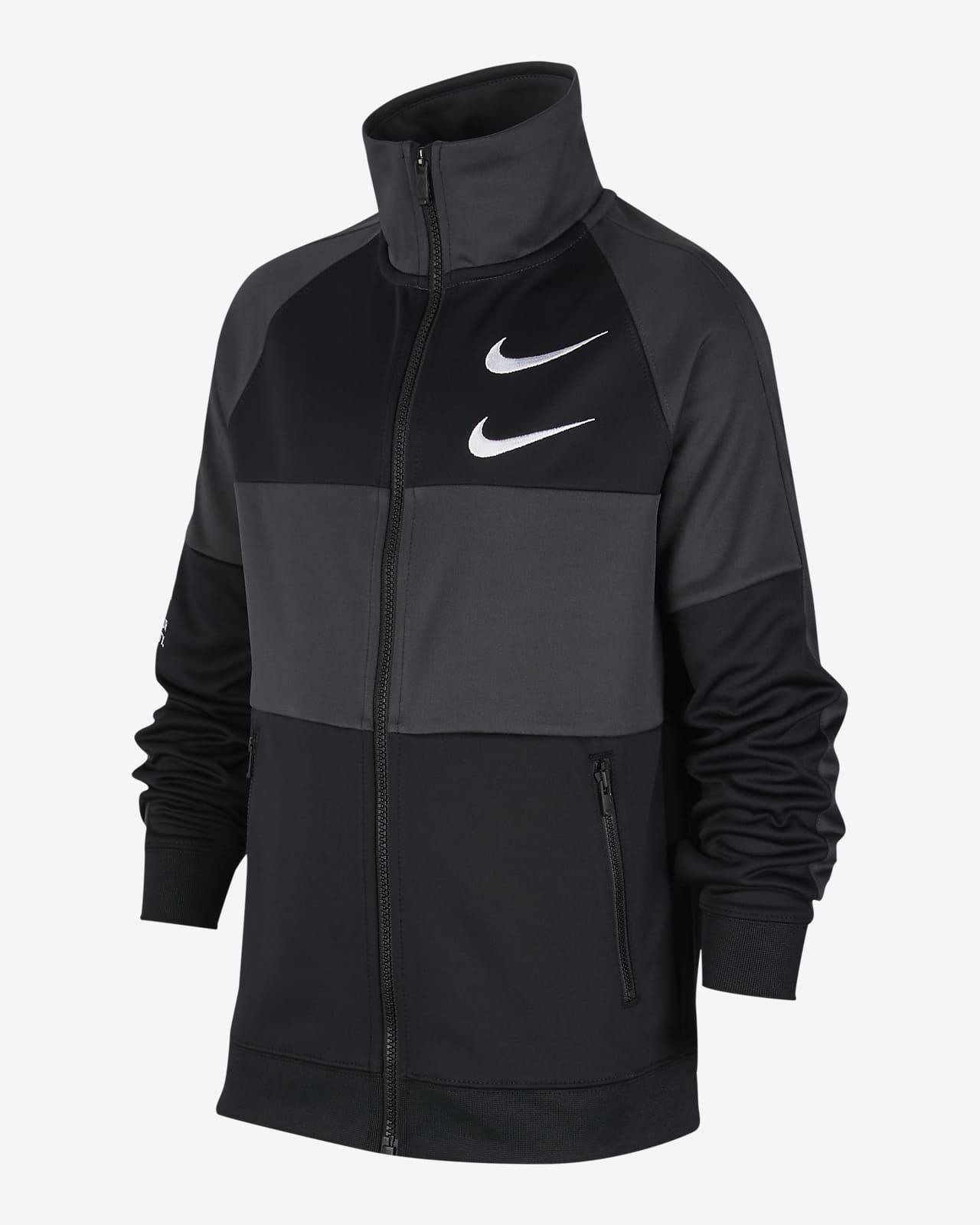 Nike Sportswear Swoosh jakke til store barn (gutt)