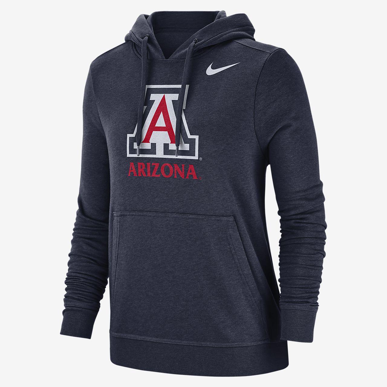 Nike College Club Fleece (Arizona) Women's Pullover Hoodie