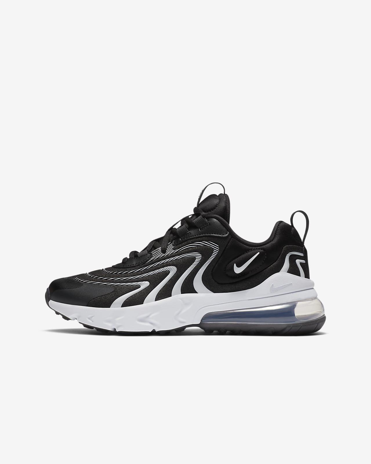 Nike Air Max 270 React ENG sko til store barn