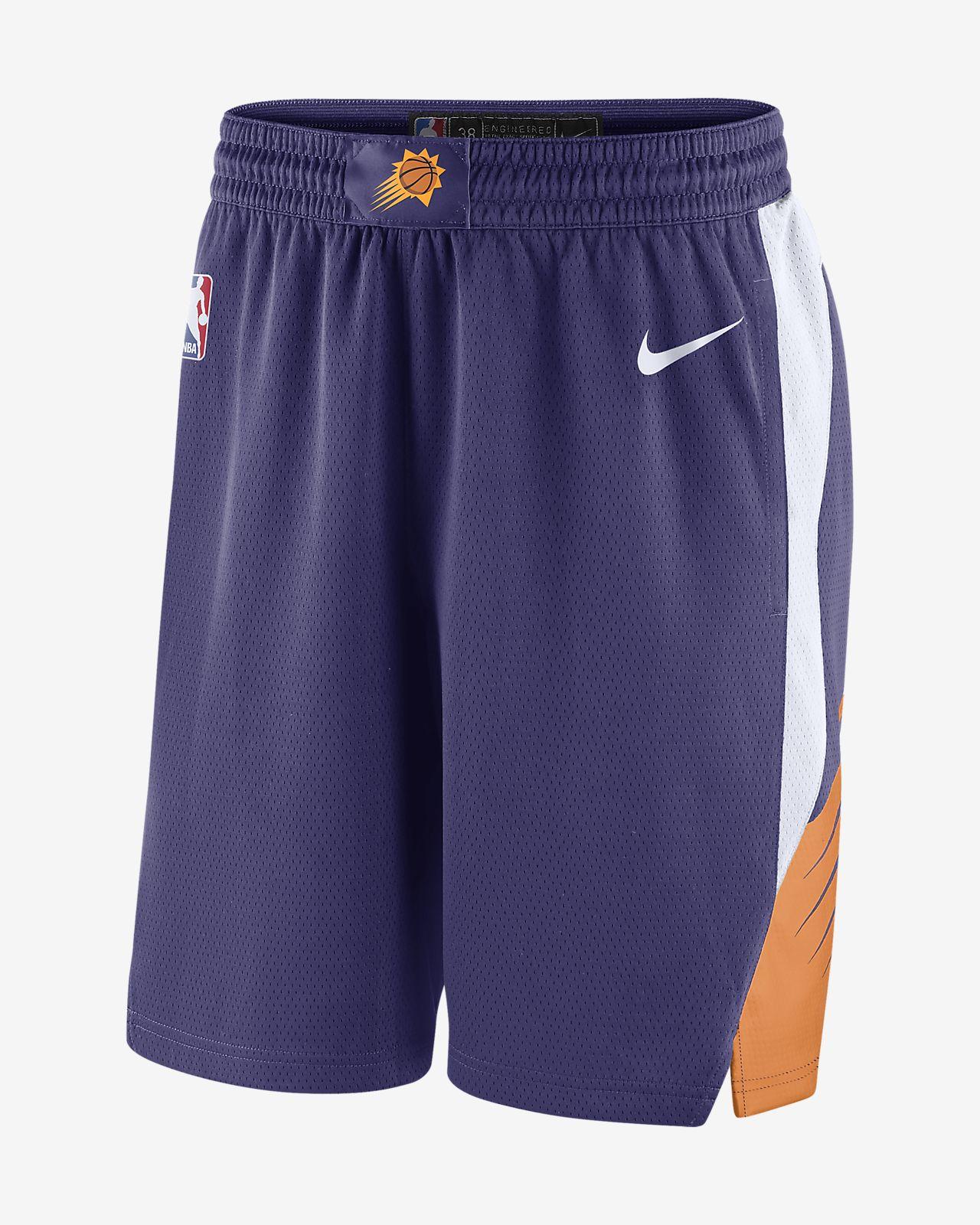 Shorts de la NBA para hombre Phoenix Suns Icon Edition Swingman