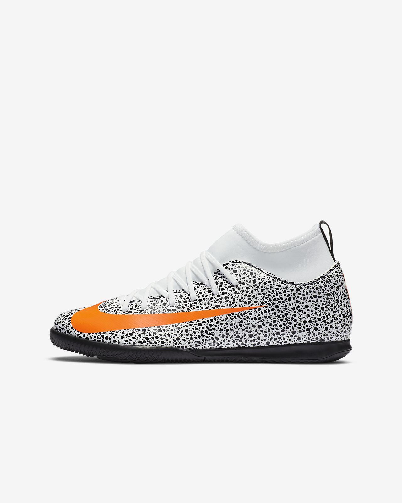Nike Jr. Mercurial Superfly 7 Club CR7 Safari IC Younger/Older Kids' Indoor Court Football Shoe