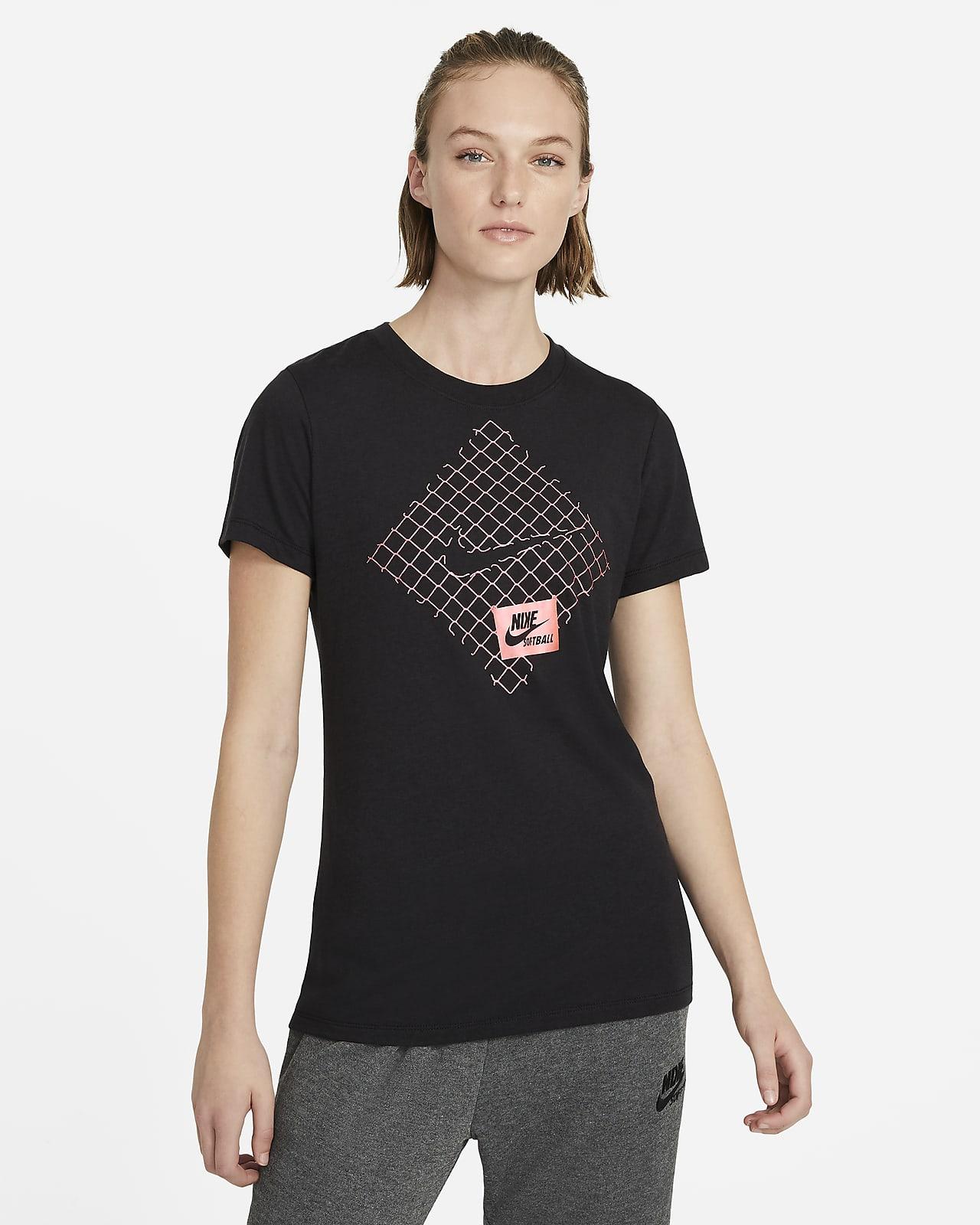 Playera de softball para mujer Nike