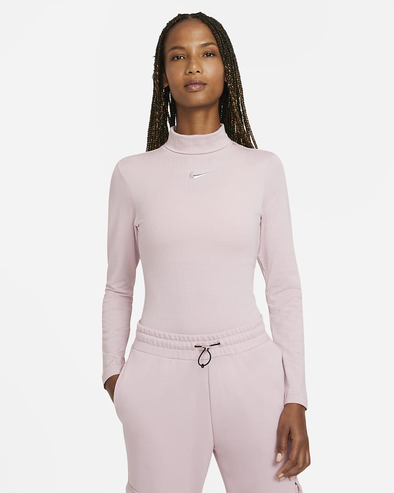 Haut à manches longues Nike Sportswear Swoosh pour Femme