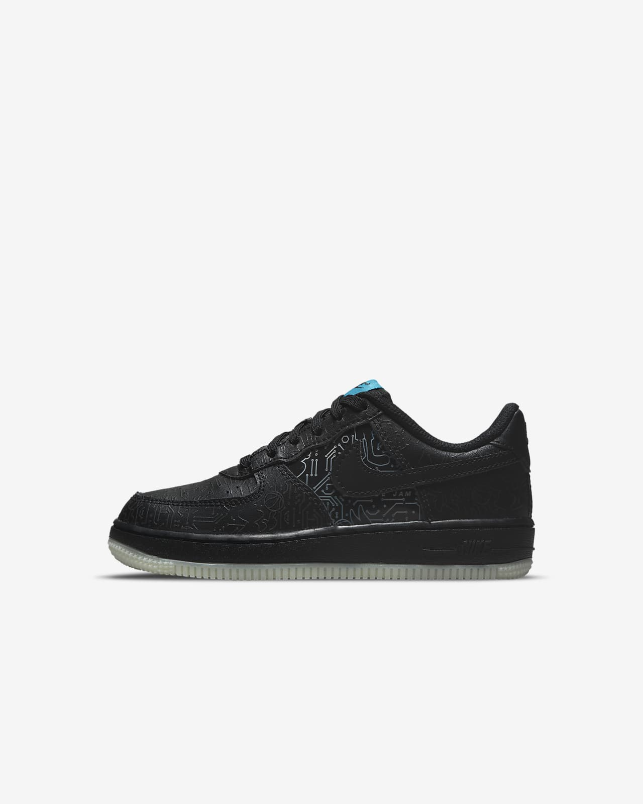 Nike Force 1 x Space Jam: A New Legacy Little Kids' Shoes