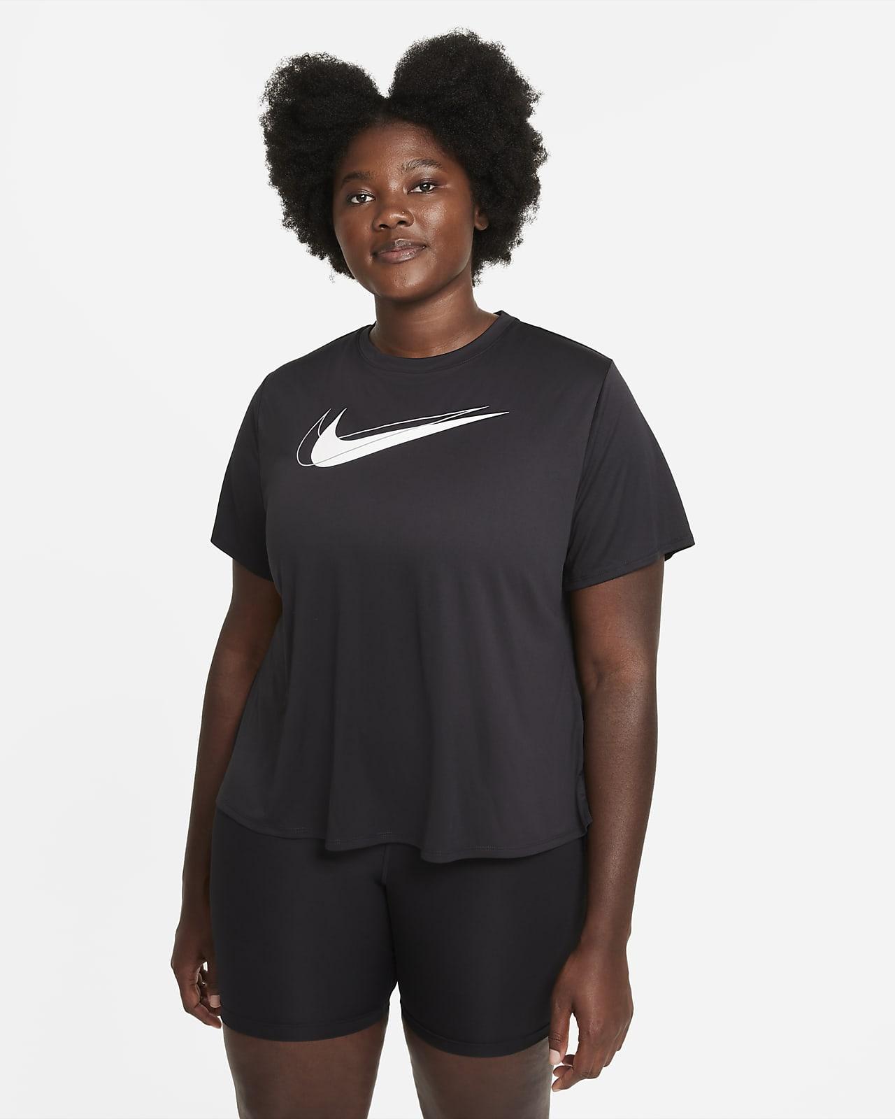 Nike Dri-FIT Swoosh Run Women's Running Top (Plus Size)