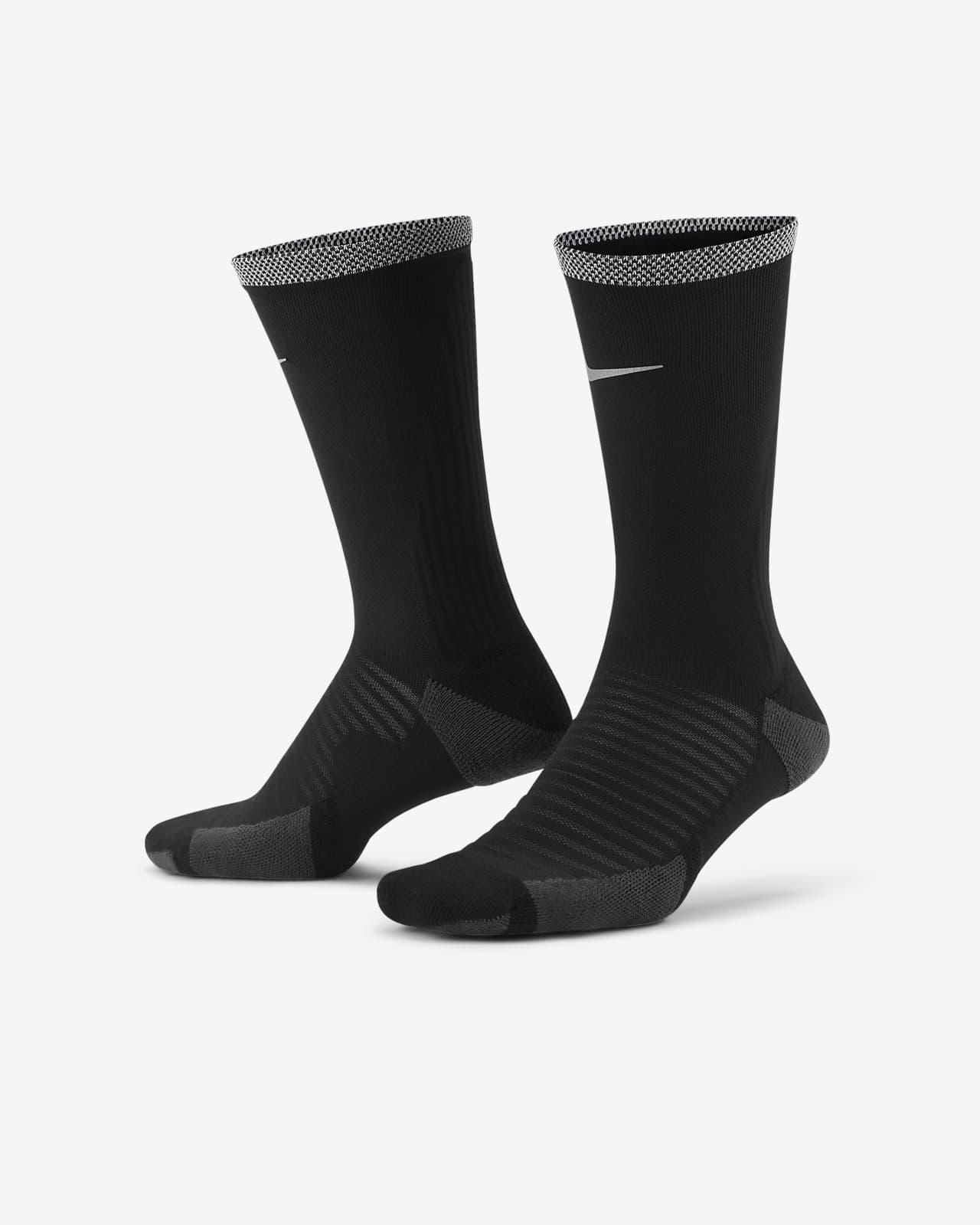 Κάλτσες μεσαίου ύψους για τρέξιμο με αντικραδασμική προστασία Nike Spark