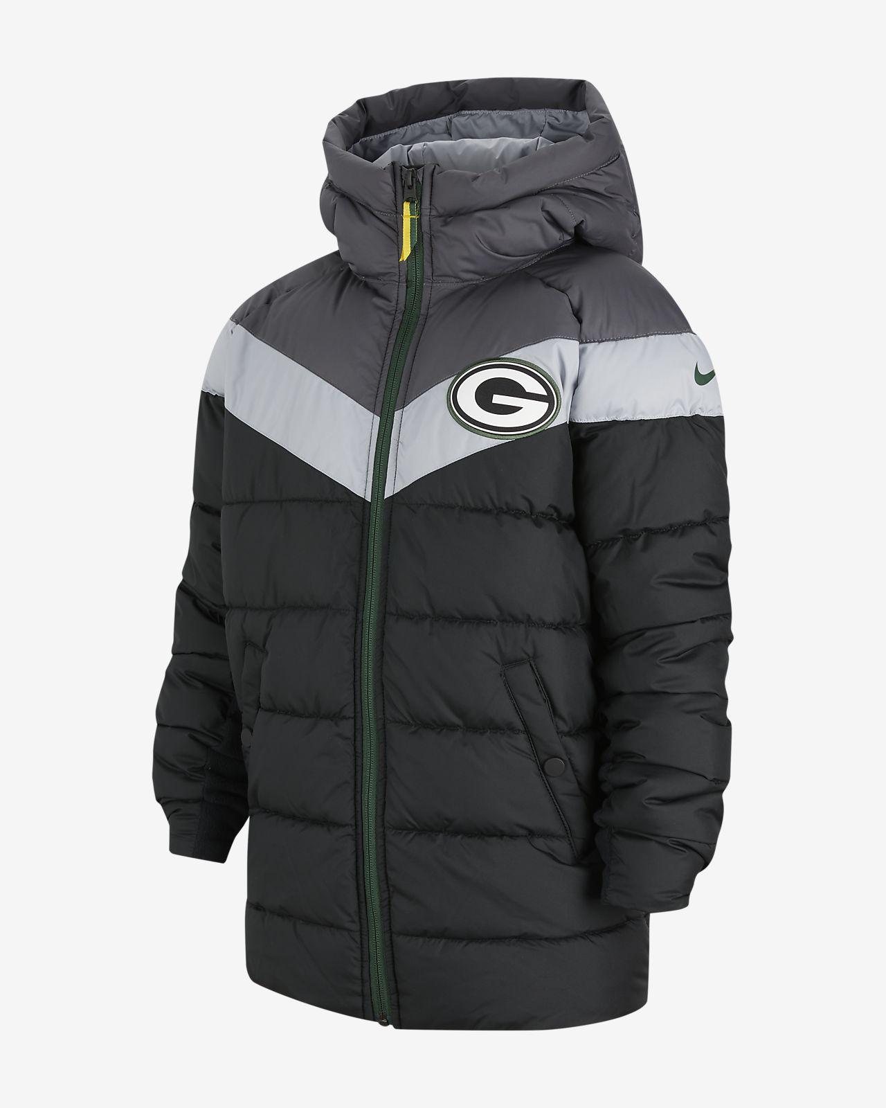 Big Kids' Hooded Puffer Jacket. Nike.com