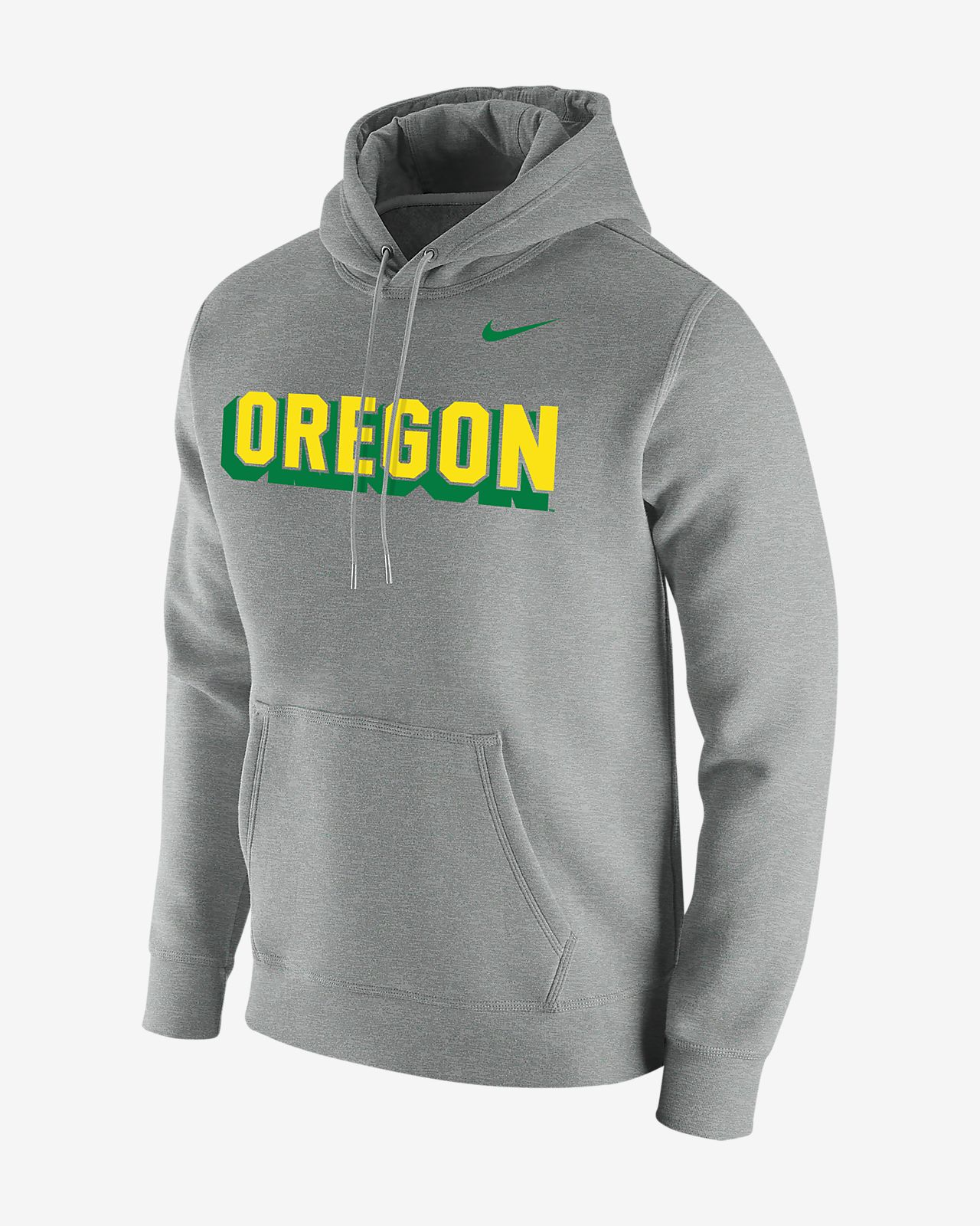 Nike College Club Fleece (Oregon) Men's Hoodie