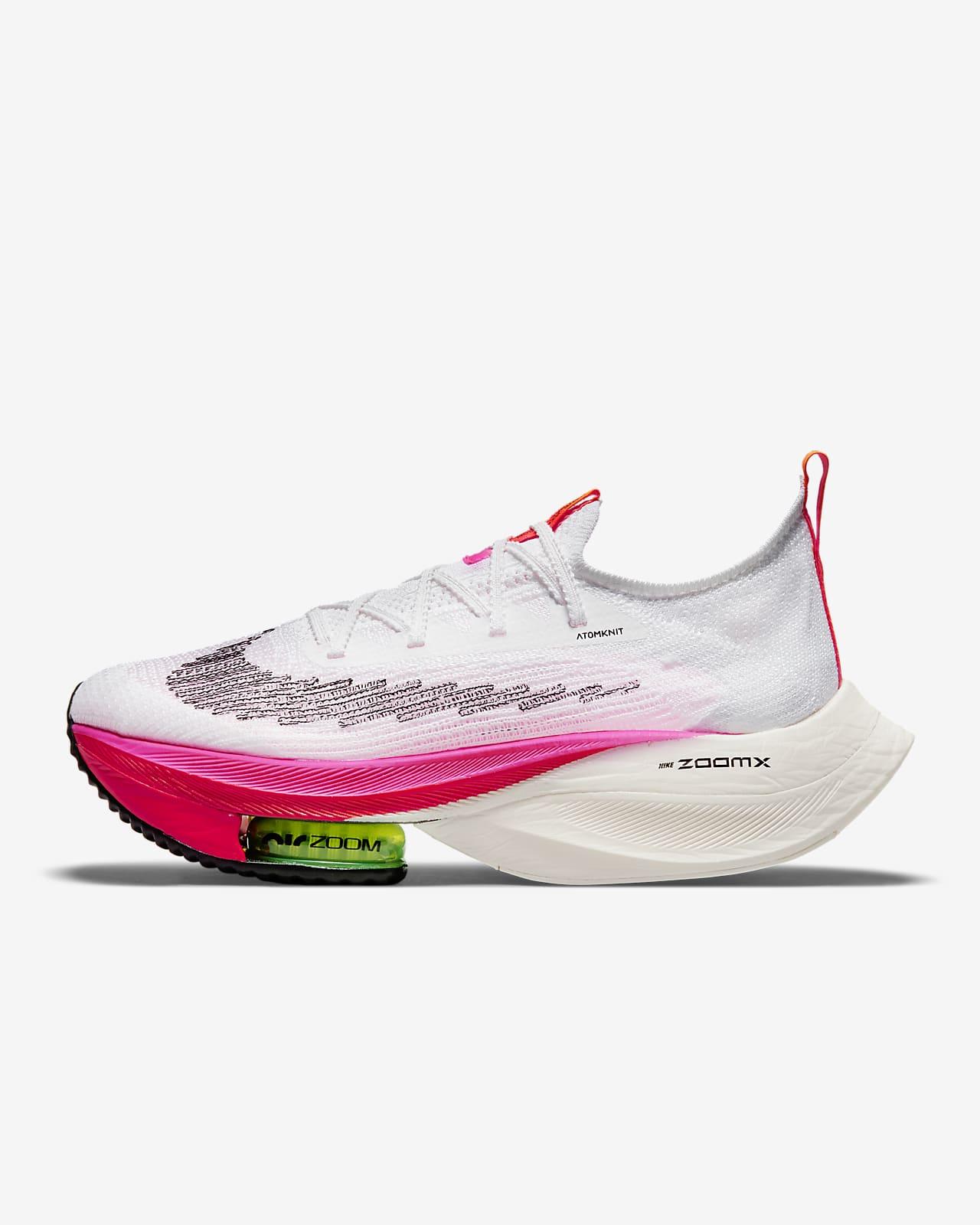 Tävlingssko för väg Nike Air Zoom Alphafly NEXT% Flyknit för kvinnor