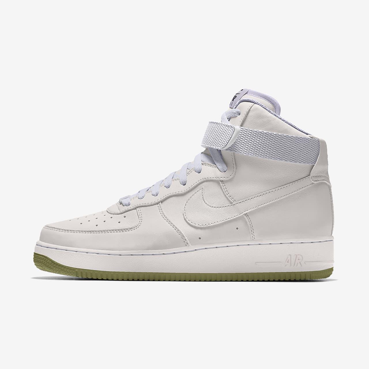 Nike Air Force 1 High By You egyedi női cipő