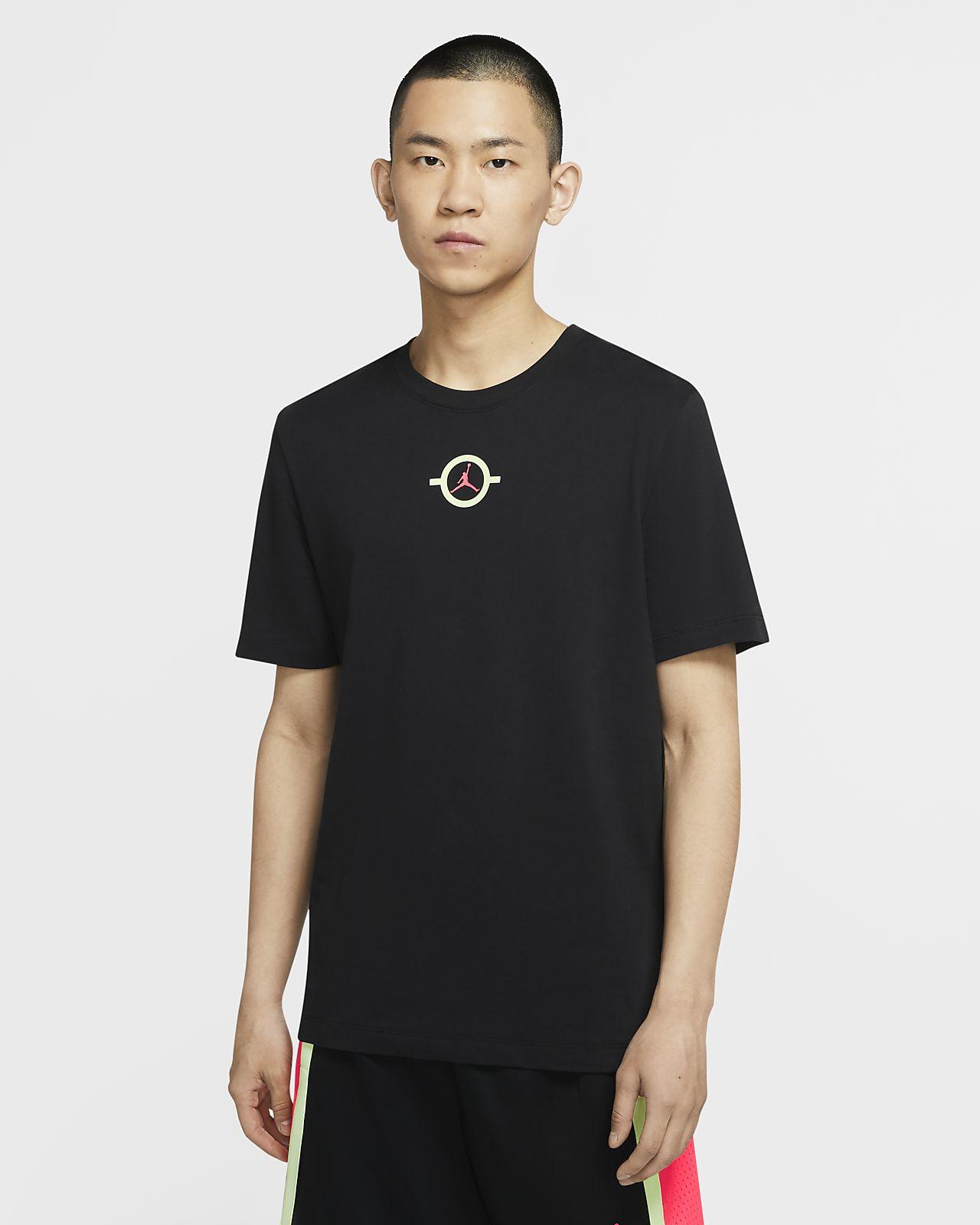 Jordan Dongdan Logo 男子短袖T恤