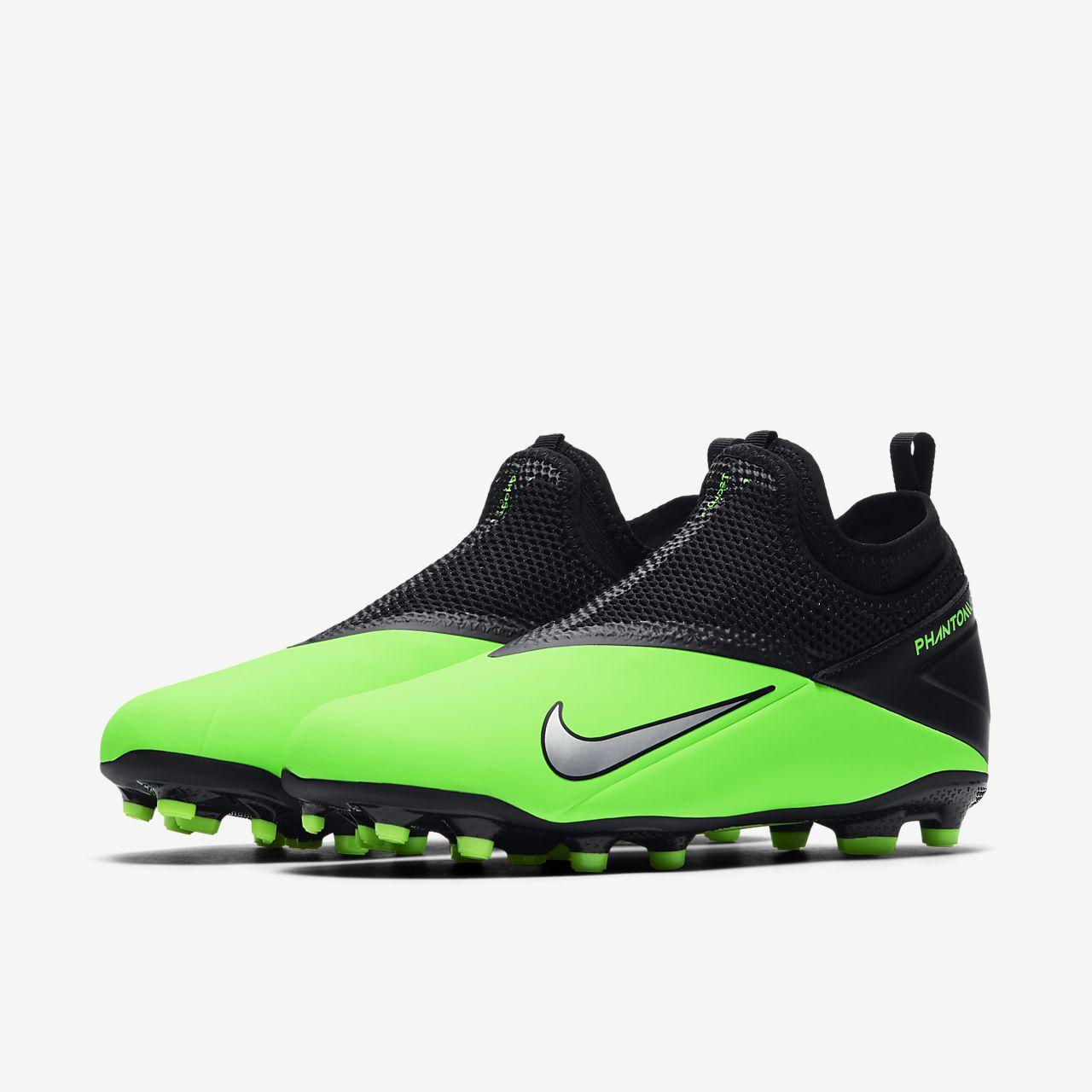 Nike Jr. Phantom Vision 2 Academy Dynamic Fit MG YoungerOlder Kids' Multi Ground Football Boot