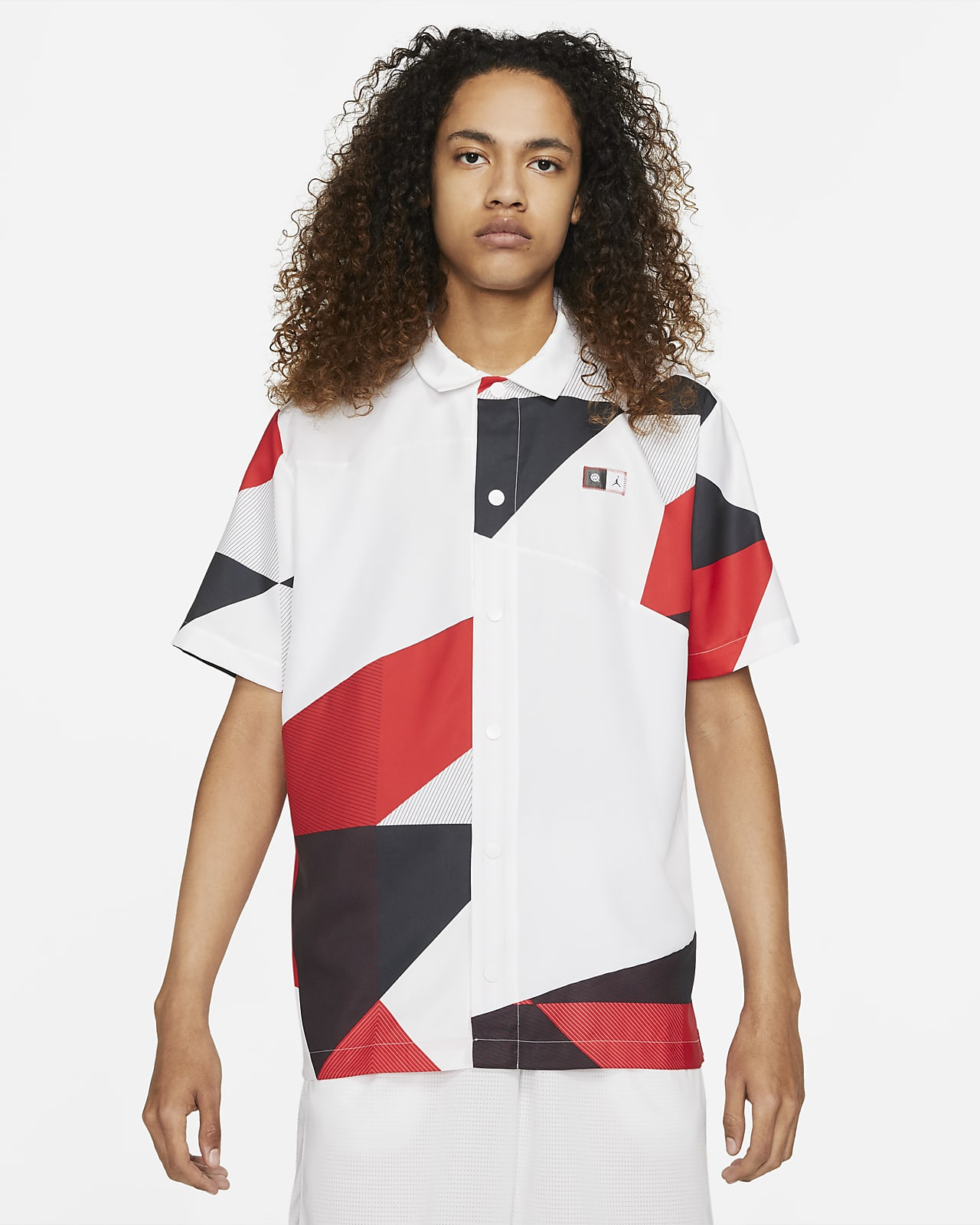 Jordan Quai 54 Shooting-Shirt mit Print für Herren